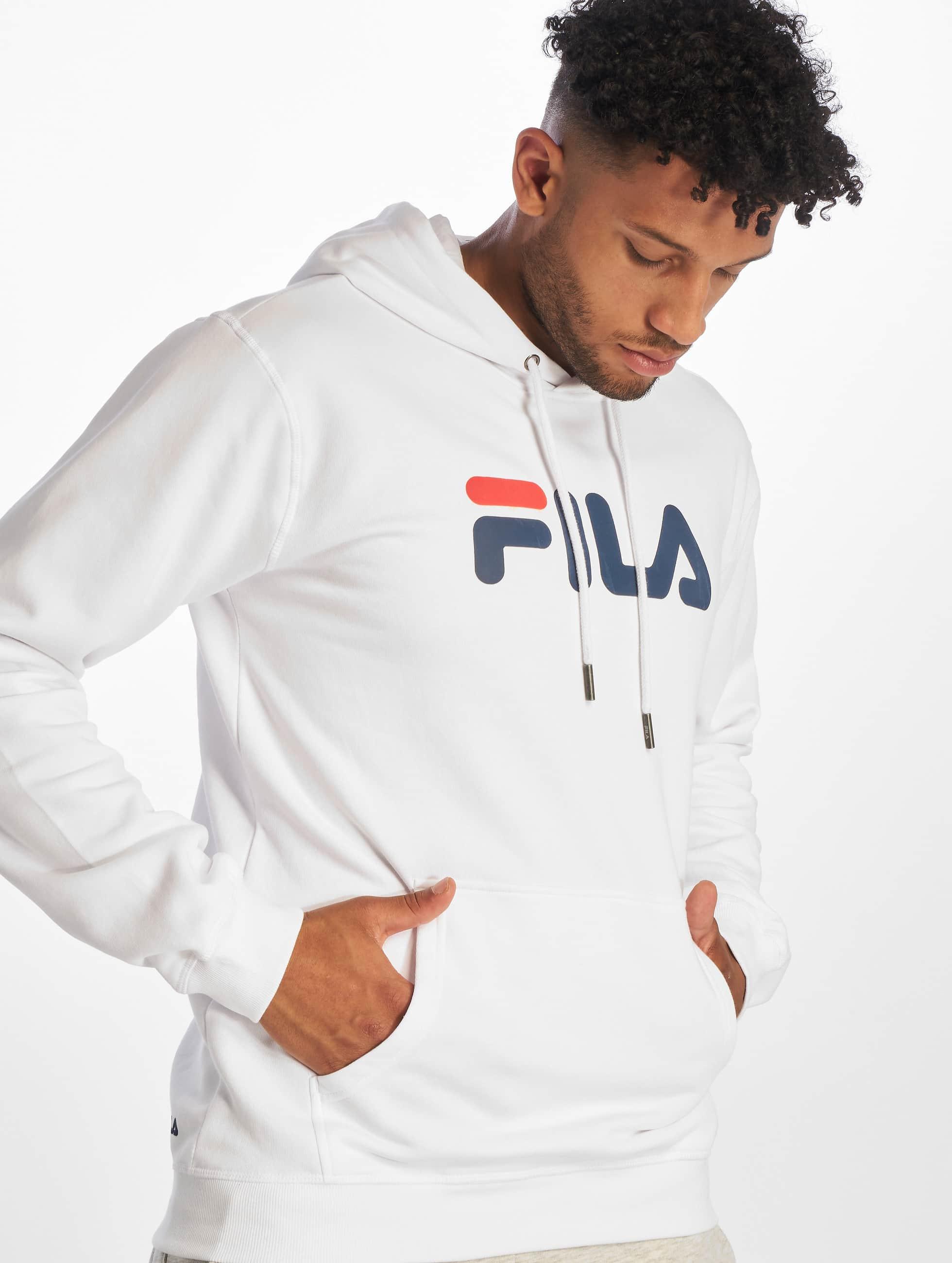 FILA Sweat shirt à capuche Classic Pure Bright White