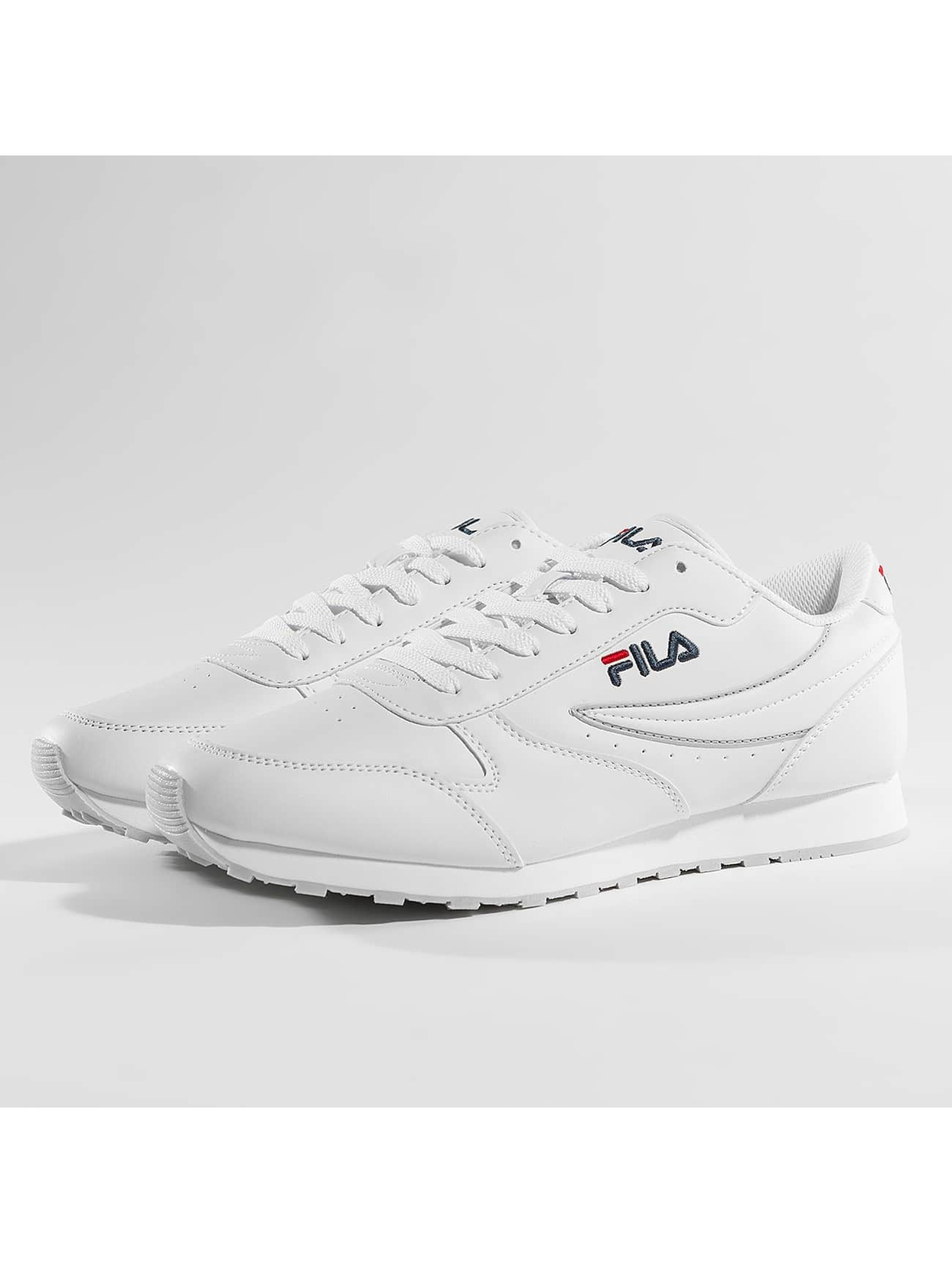 FILA Tøysko Orbit Low hvit