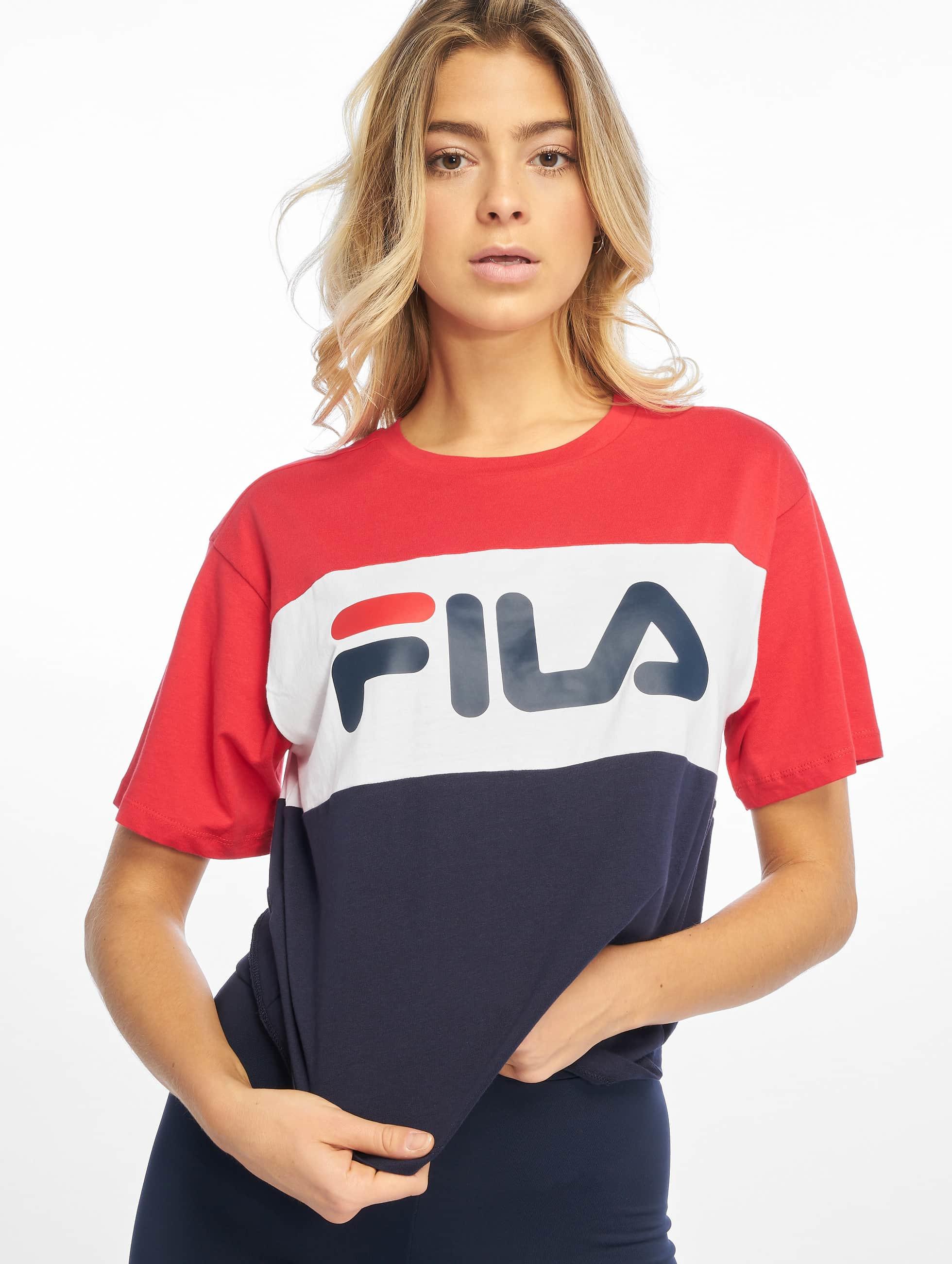 Fila Urban Line Allison T-Shirt Black Iris/True Red/Bright White