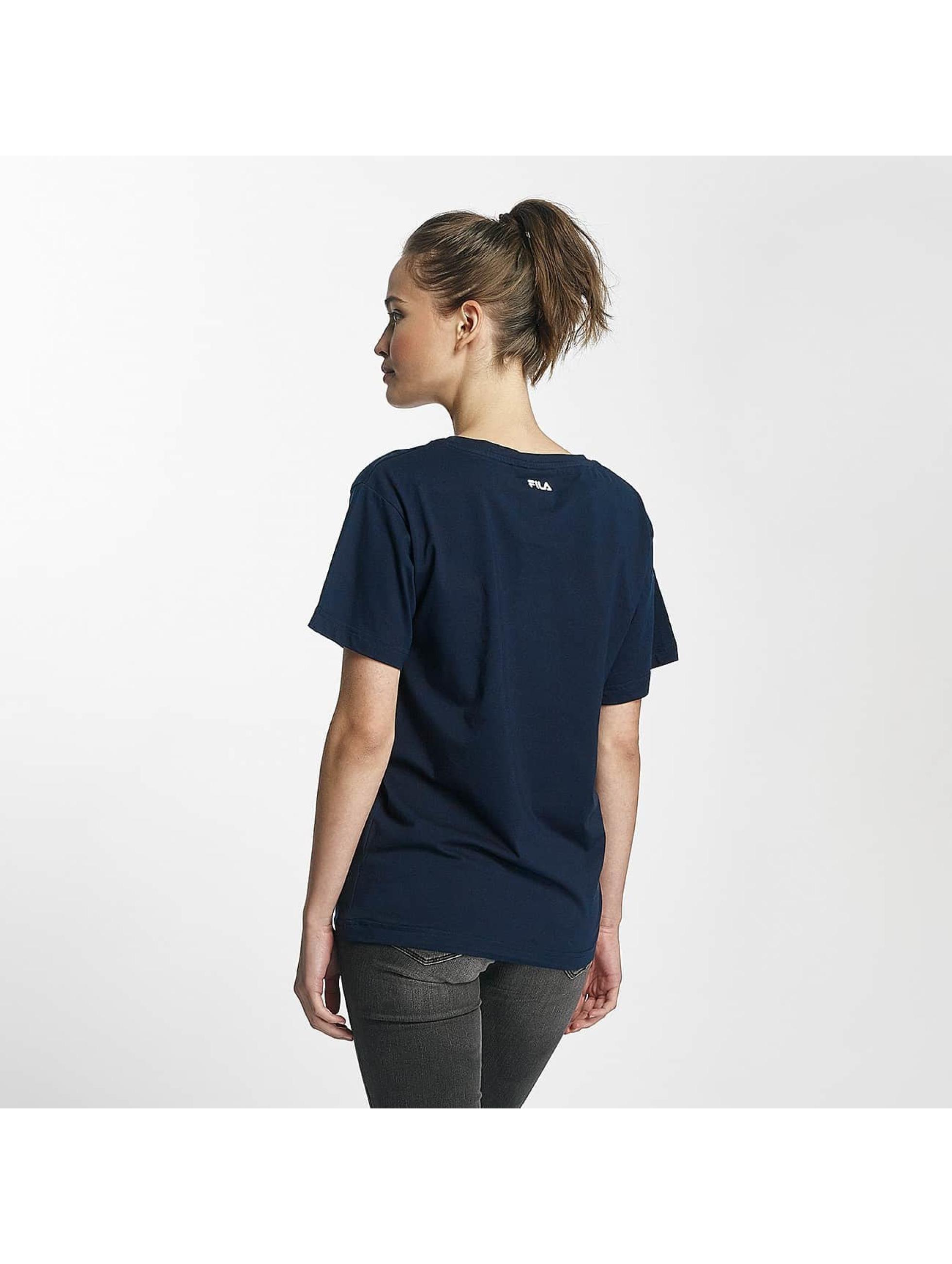 fila core line classic bleu femme t shirt fila acheter pas cher haut 439363. Black Bedroom Furniture Sets. Home Design Ideas