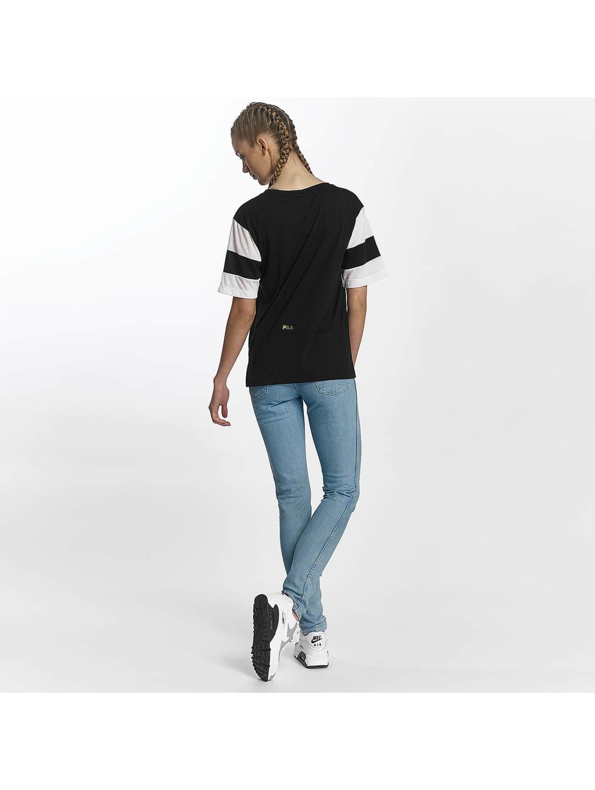FILA T-Shirt Petite Isao Blocked noir