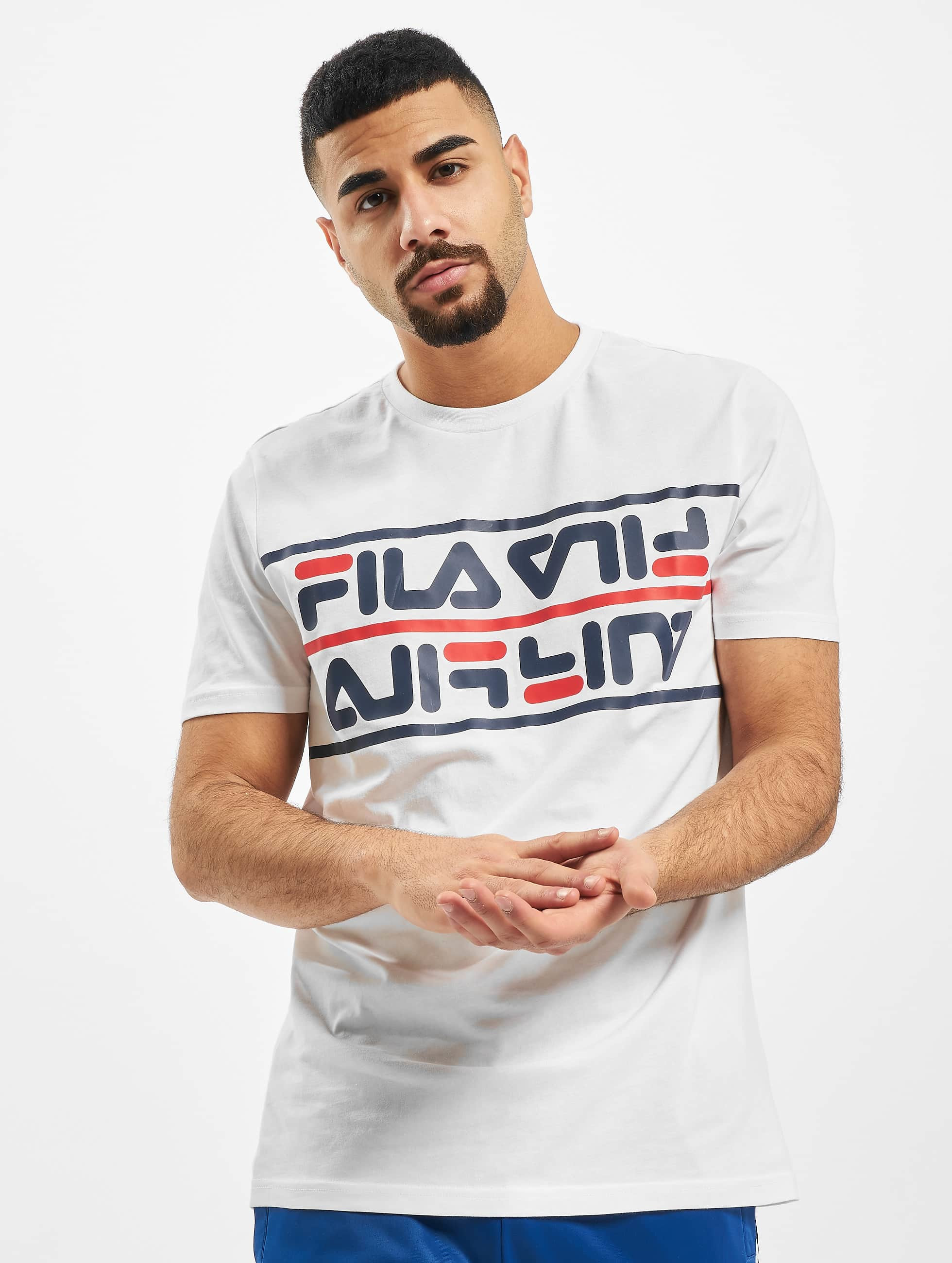 Fila Salman T Shirt Bright White