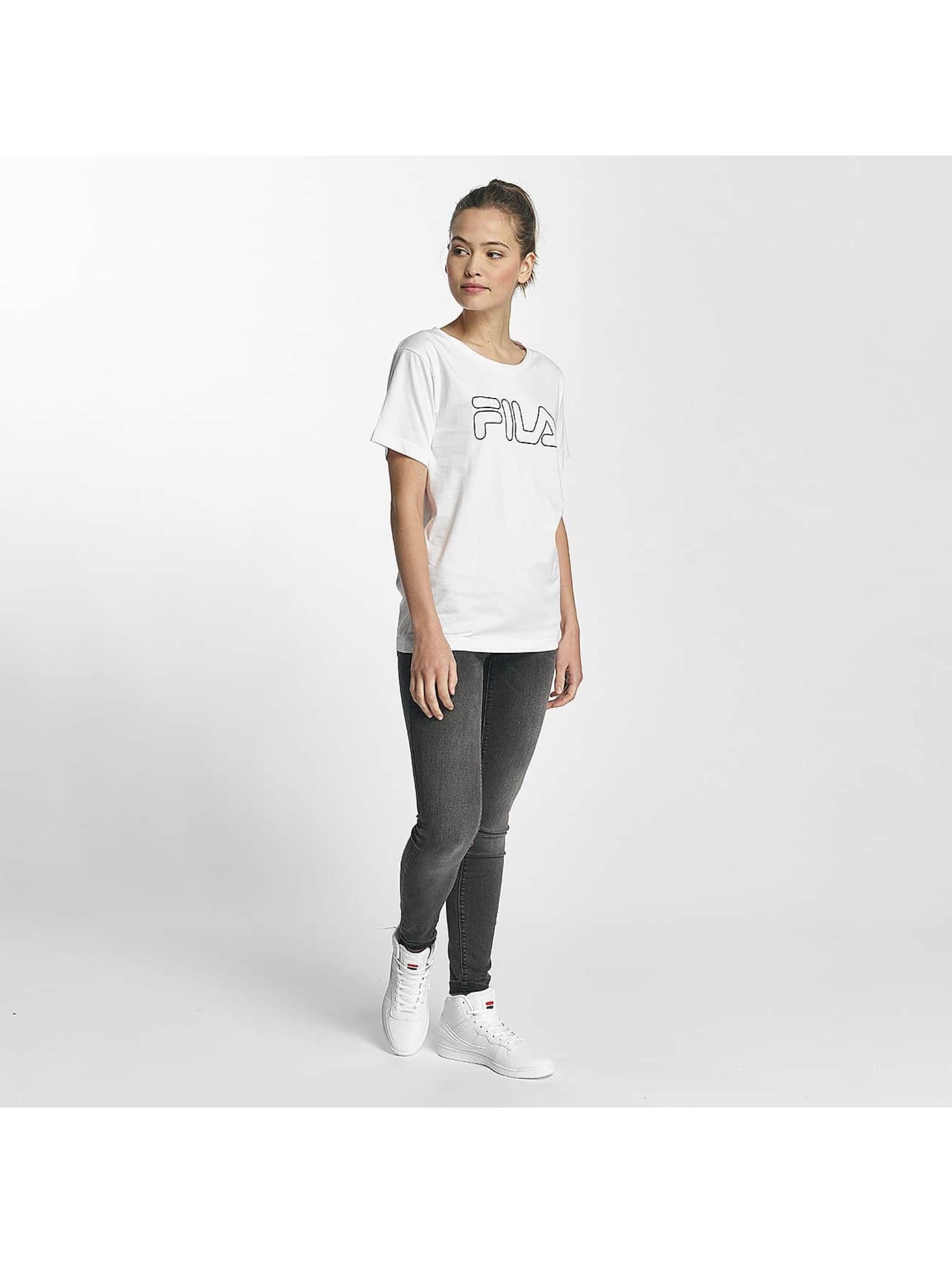 FILA T-Shirty Core Line bialy