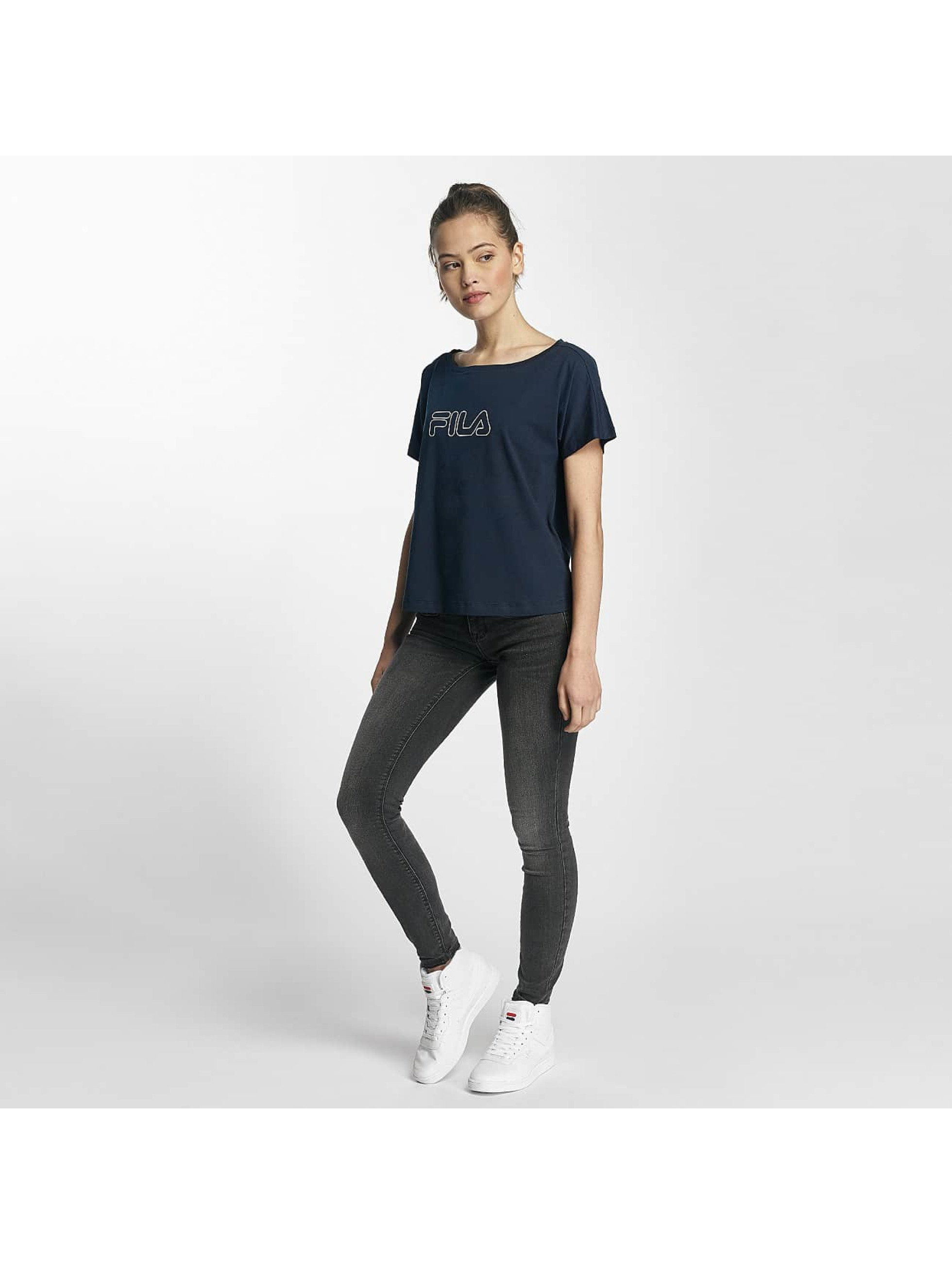 FILA T-Shirty Core Line niebieski