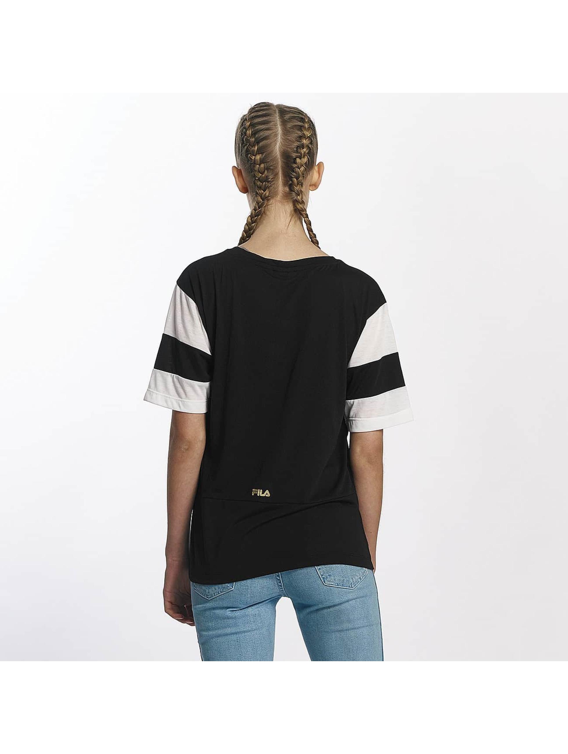 FILA T-skjorter Petite Isao Blocked svart