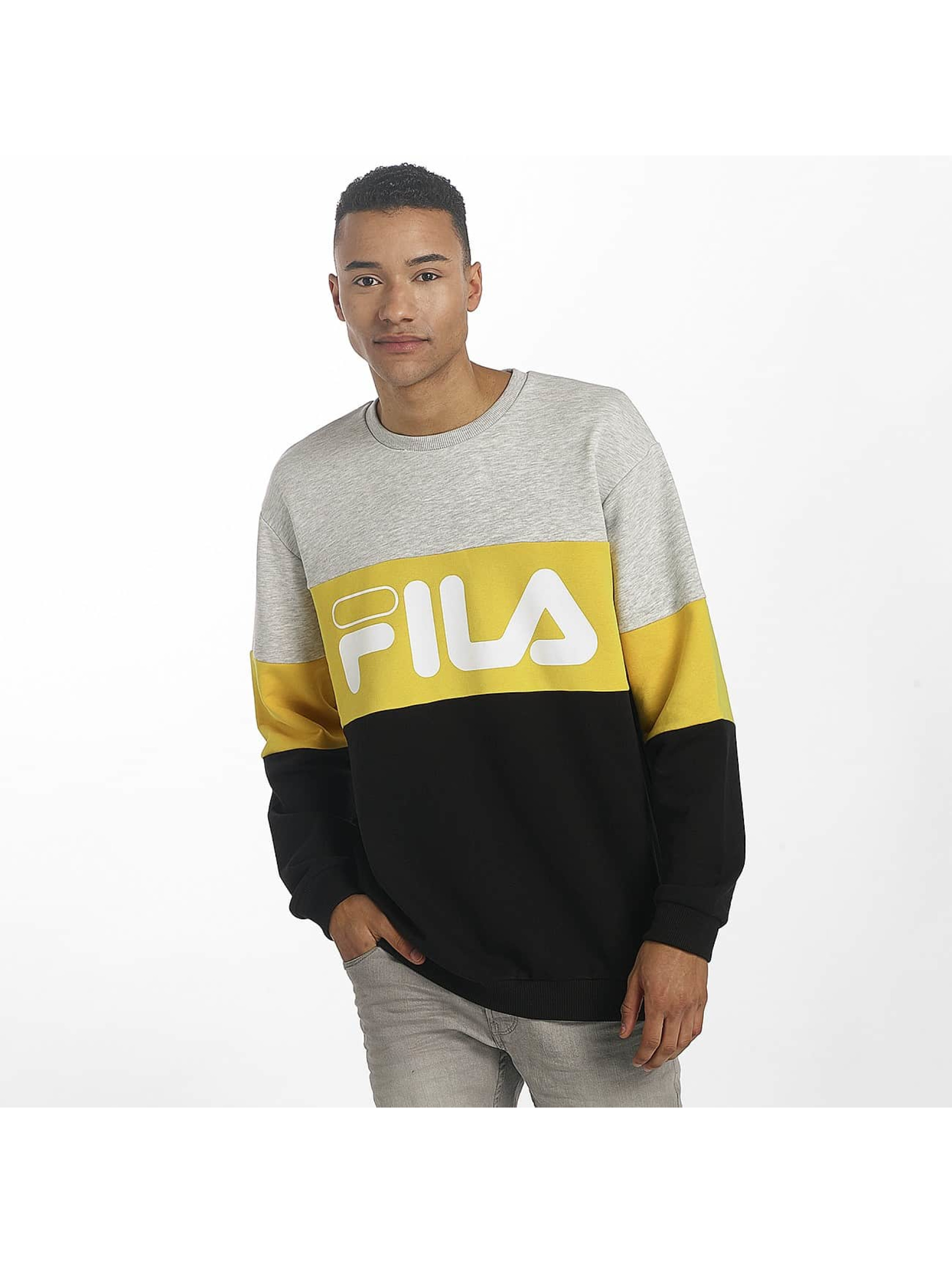 FILA trui Urban Line Straight Blocked grijs