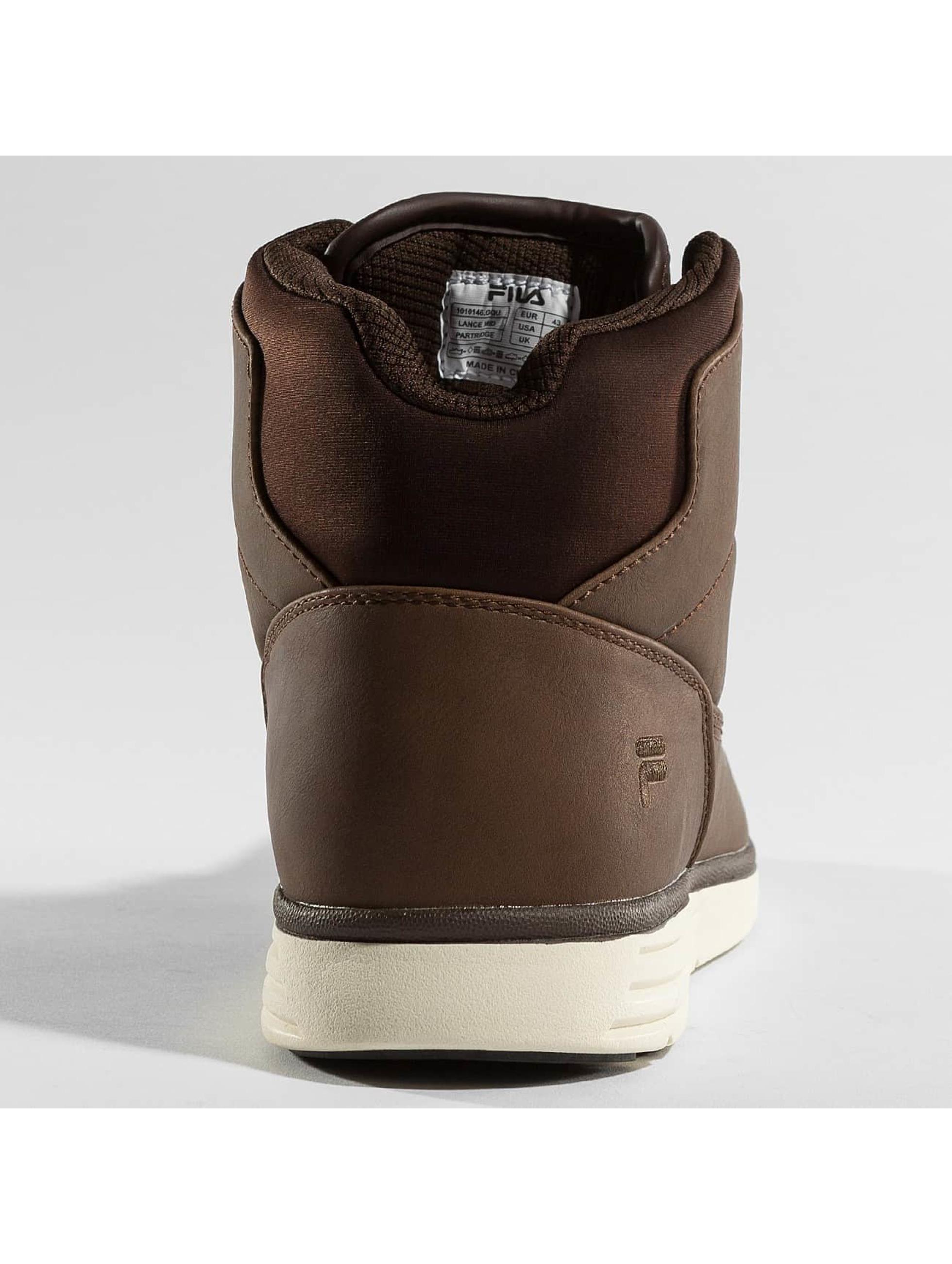 FILA Vapaa-ajan kengät Base Lance Mid ruskea