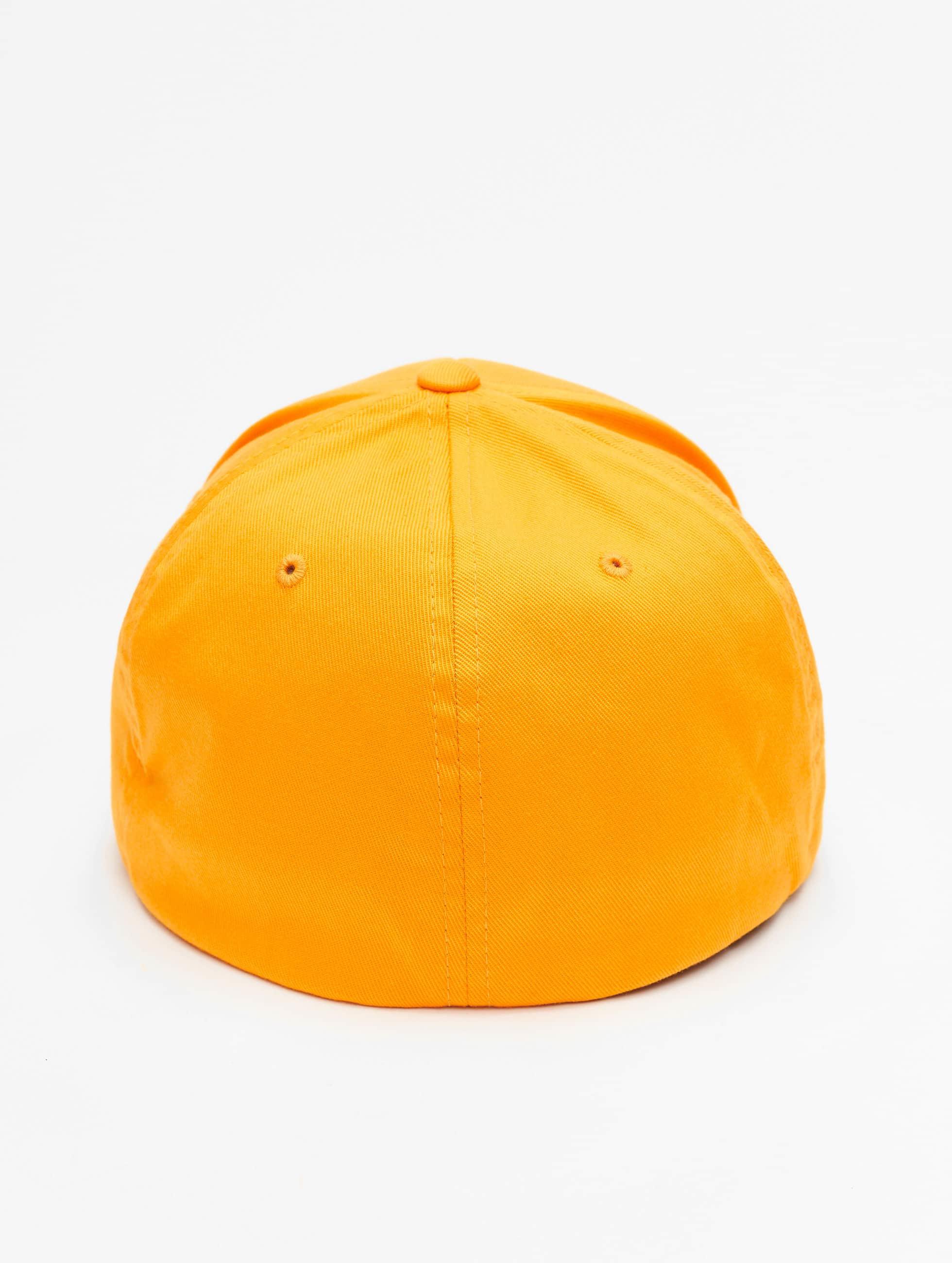 Flexfit Бейсболкa Flexfit Wooly Combed желтый