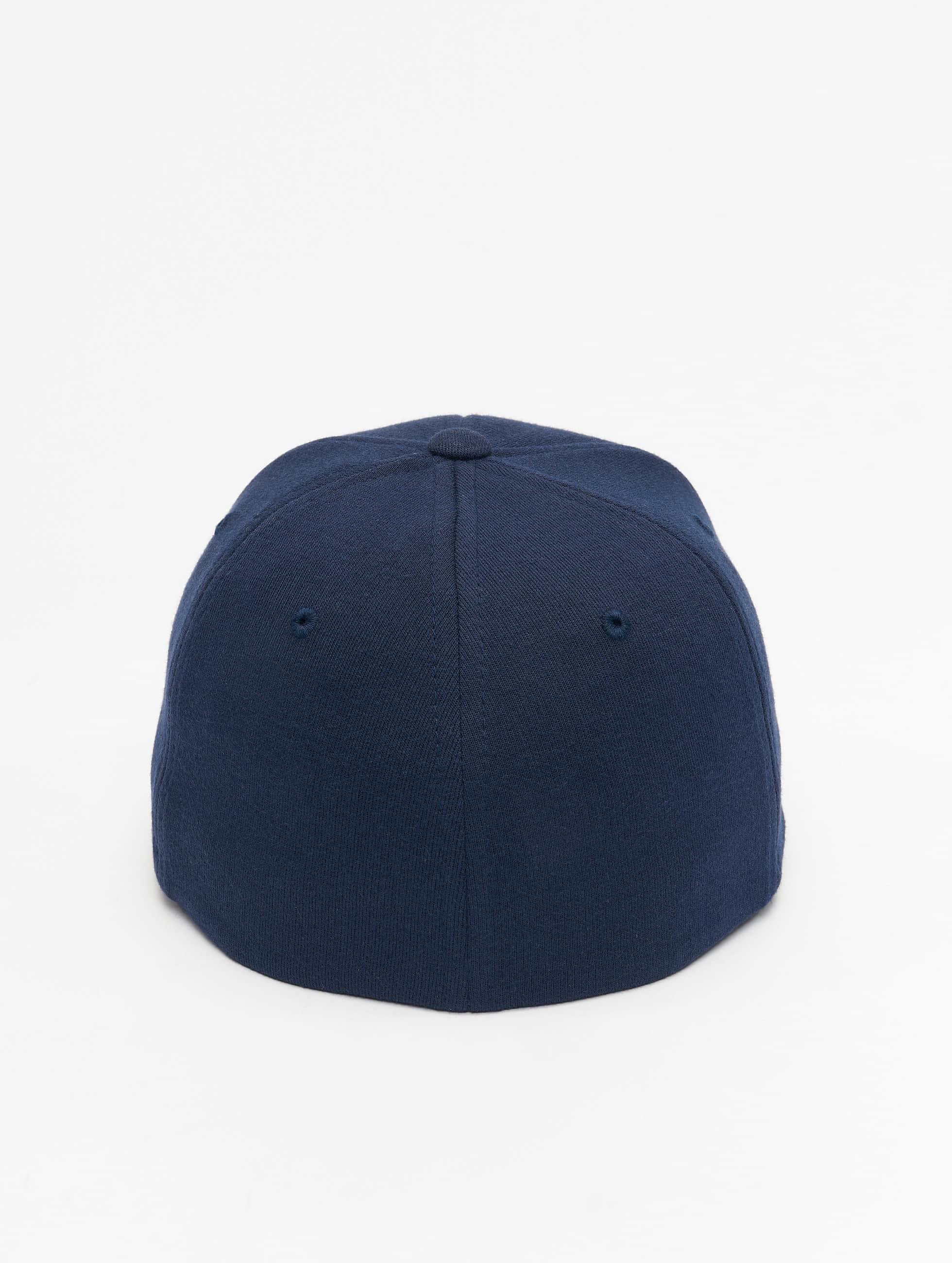 Flexfit Бейсболкa Flexfit Double Jersey синий