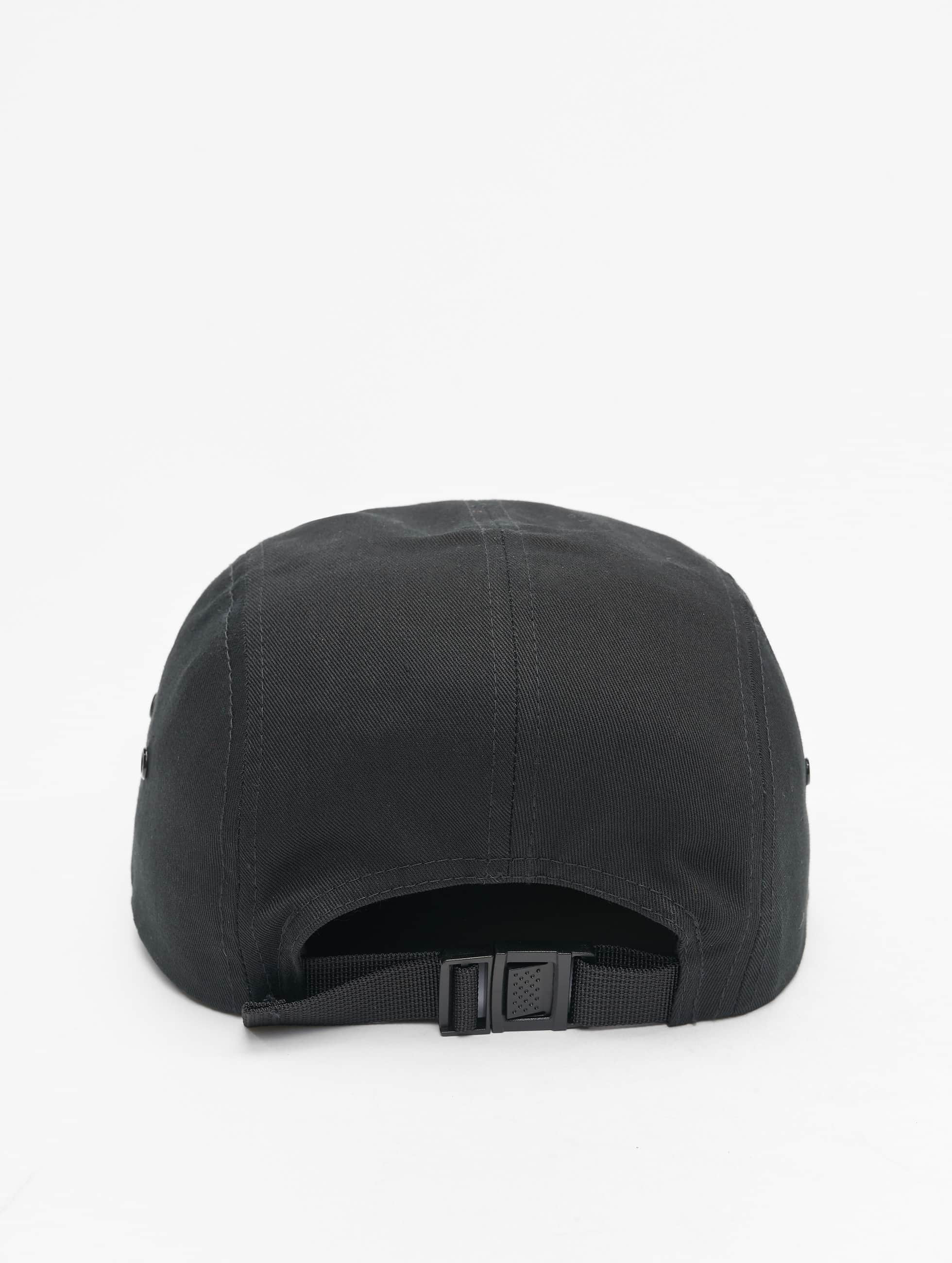 Flexfit 5 Panel Caps Classic Jockey zwart