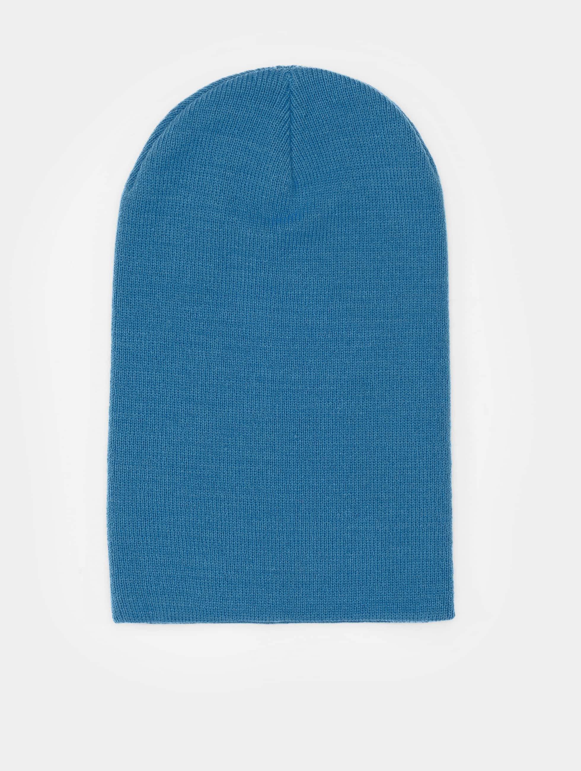 Flexfit Beanie Heavyweight Long blau