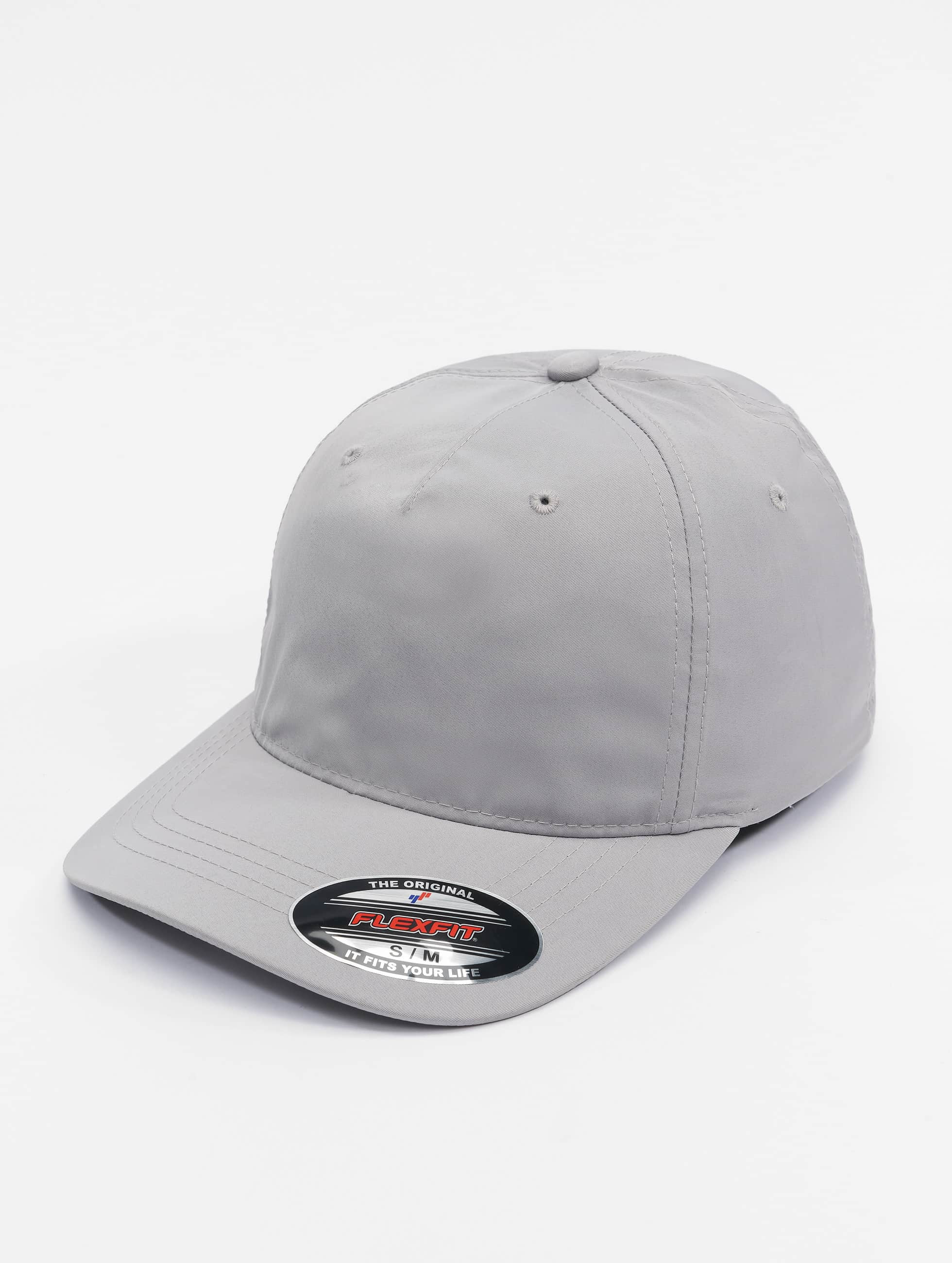 Flexfit Casquette Flex Fitted Unstructured Tech argent