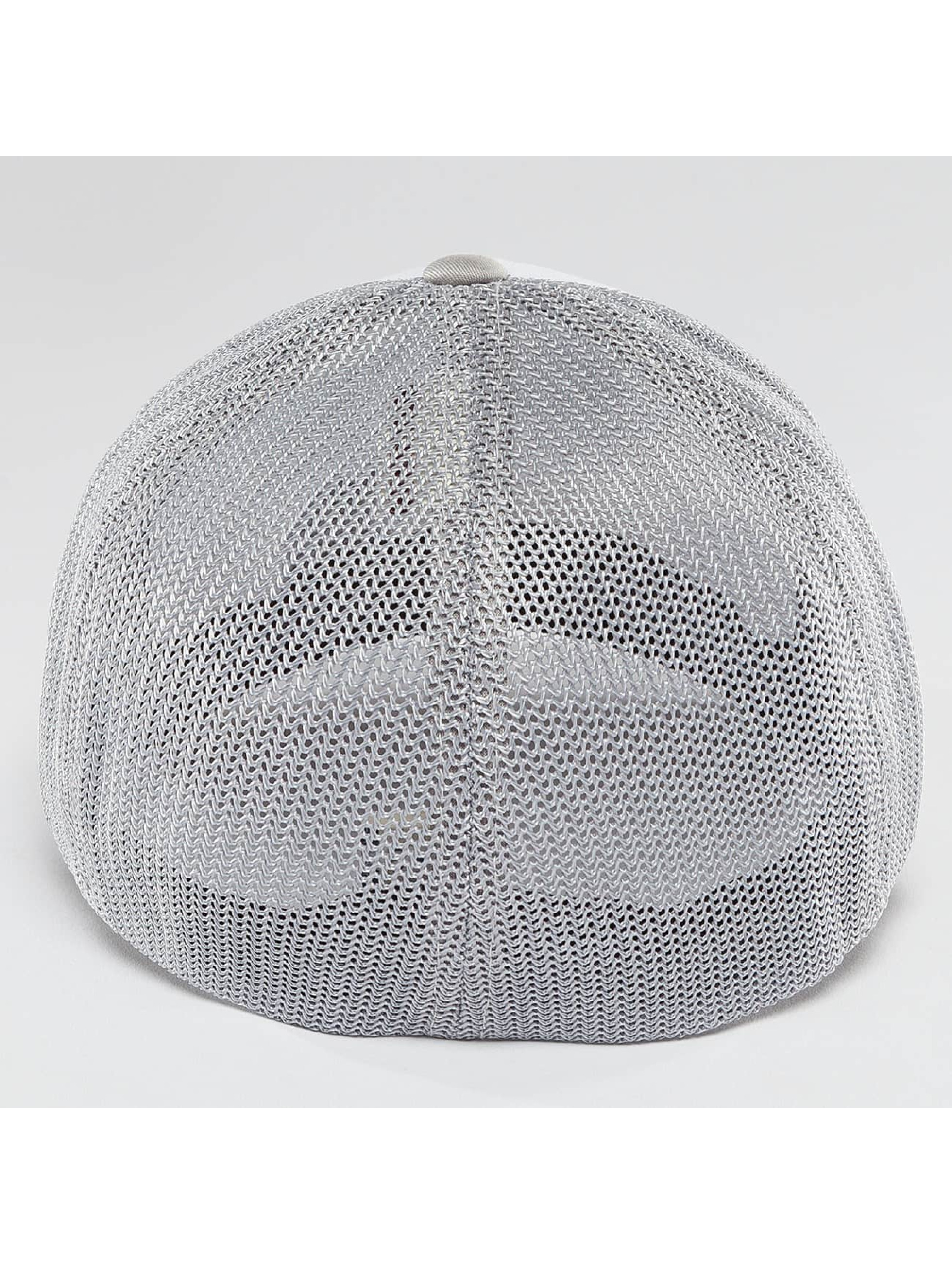Flexfit Casquette Flex Fitted Mesh Colored Front argent