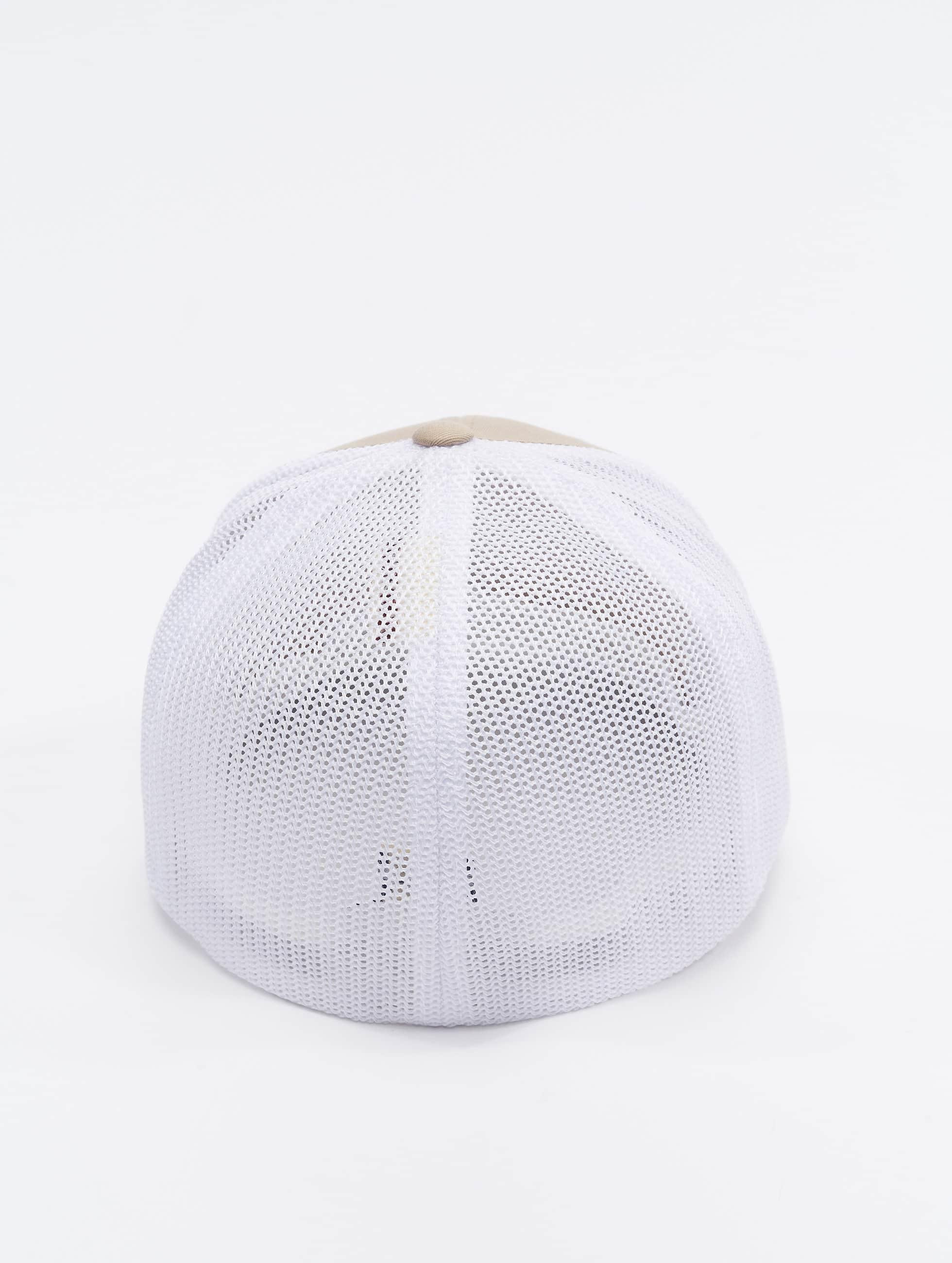 Flexfit Casquette Flex Fitted Mesh Cotton Twill beige