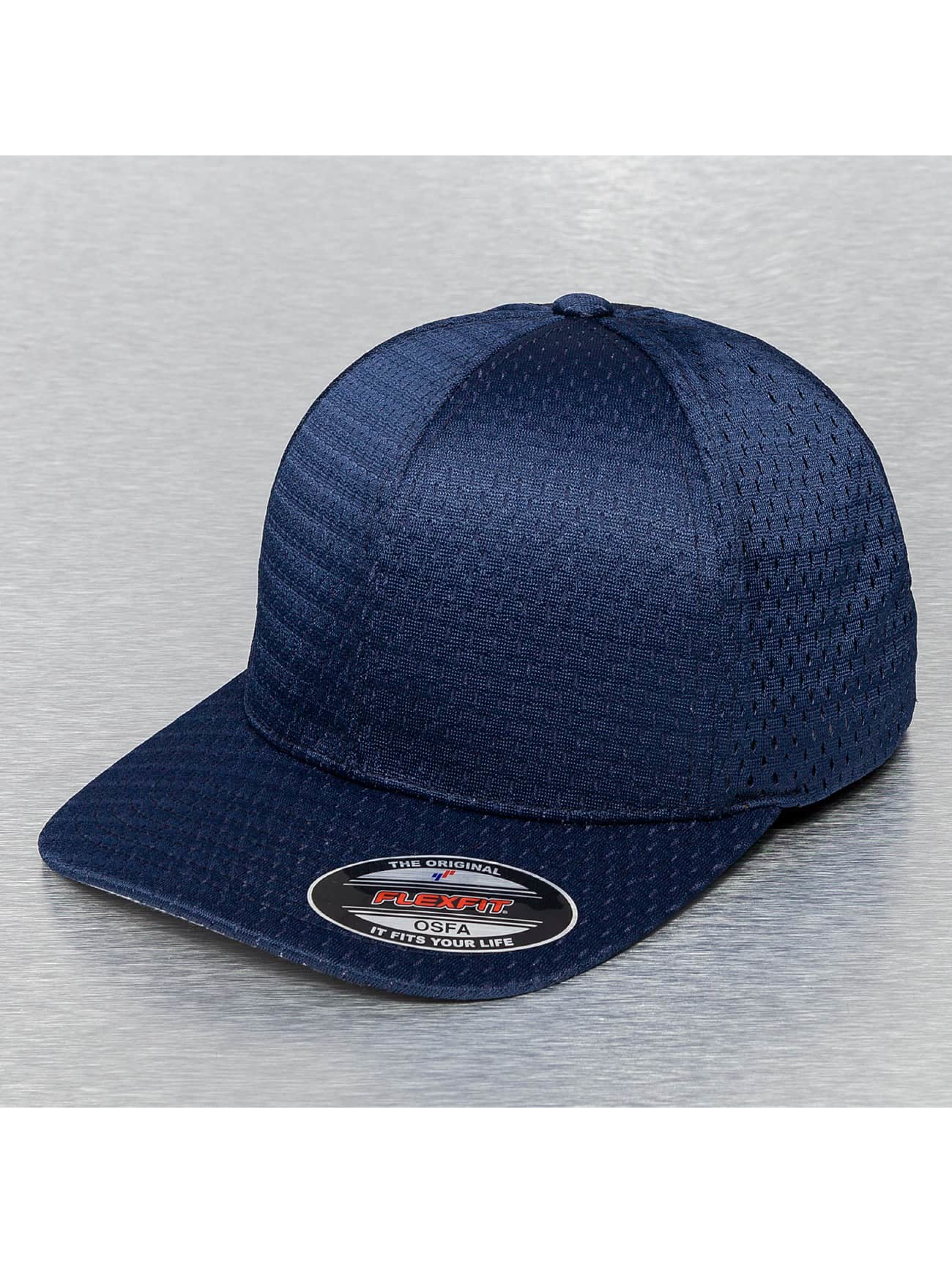 Flexfit Casquette Flex Fitted Athletic Mesh bleu