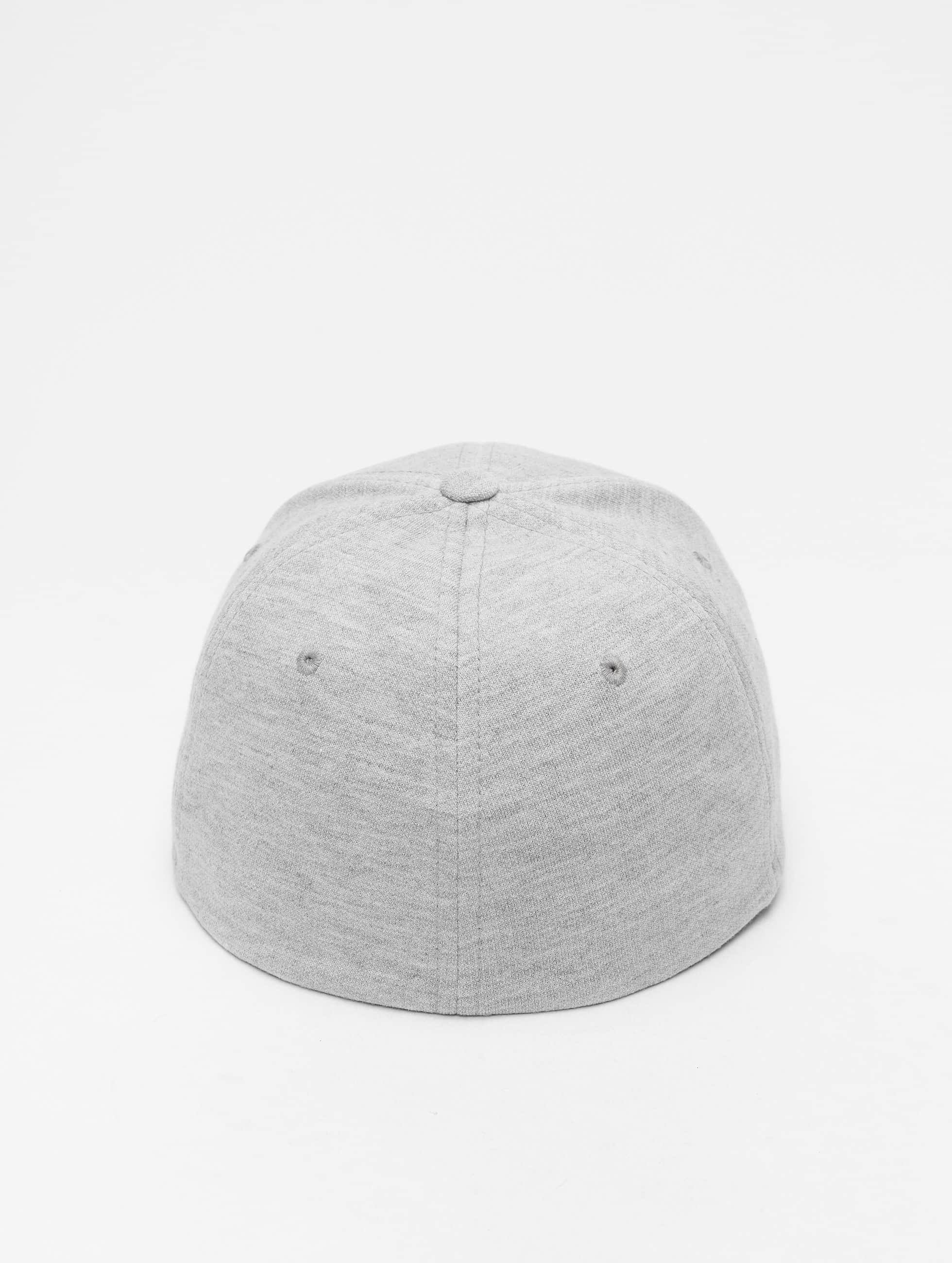 Flexfit Casquette Flex Fitted Double Jersey gris