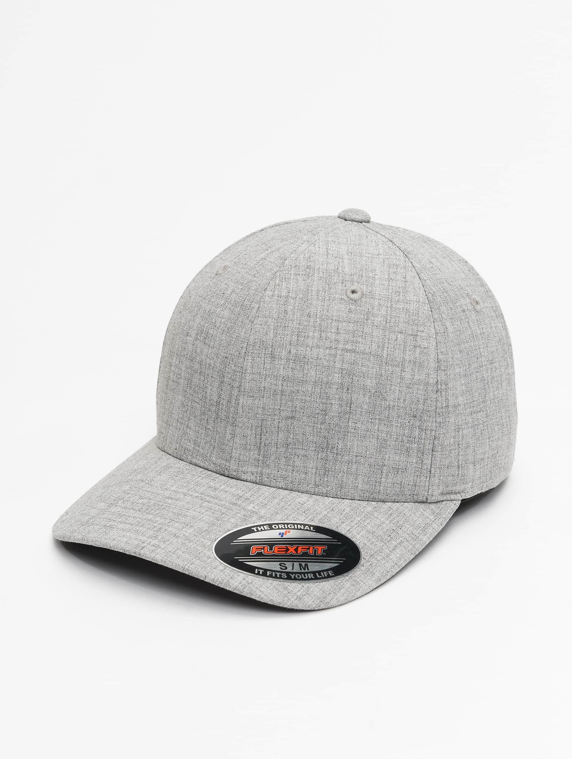 Flexfit Casquette Flex Fitted Plain Span gris
