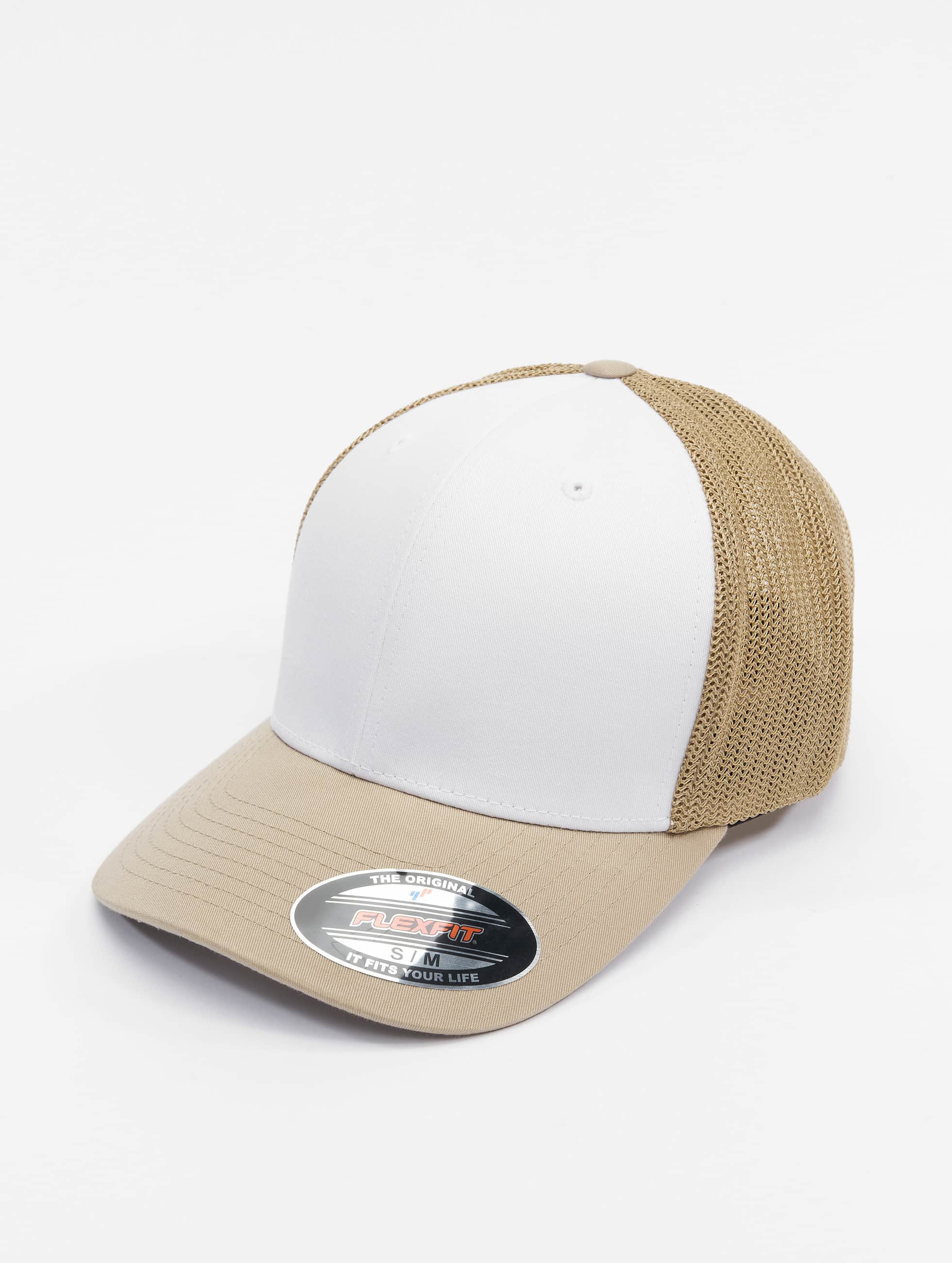 Flexfit Casquette Flex Fitted Mesh Colored Front kaki
