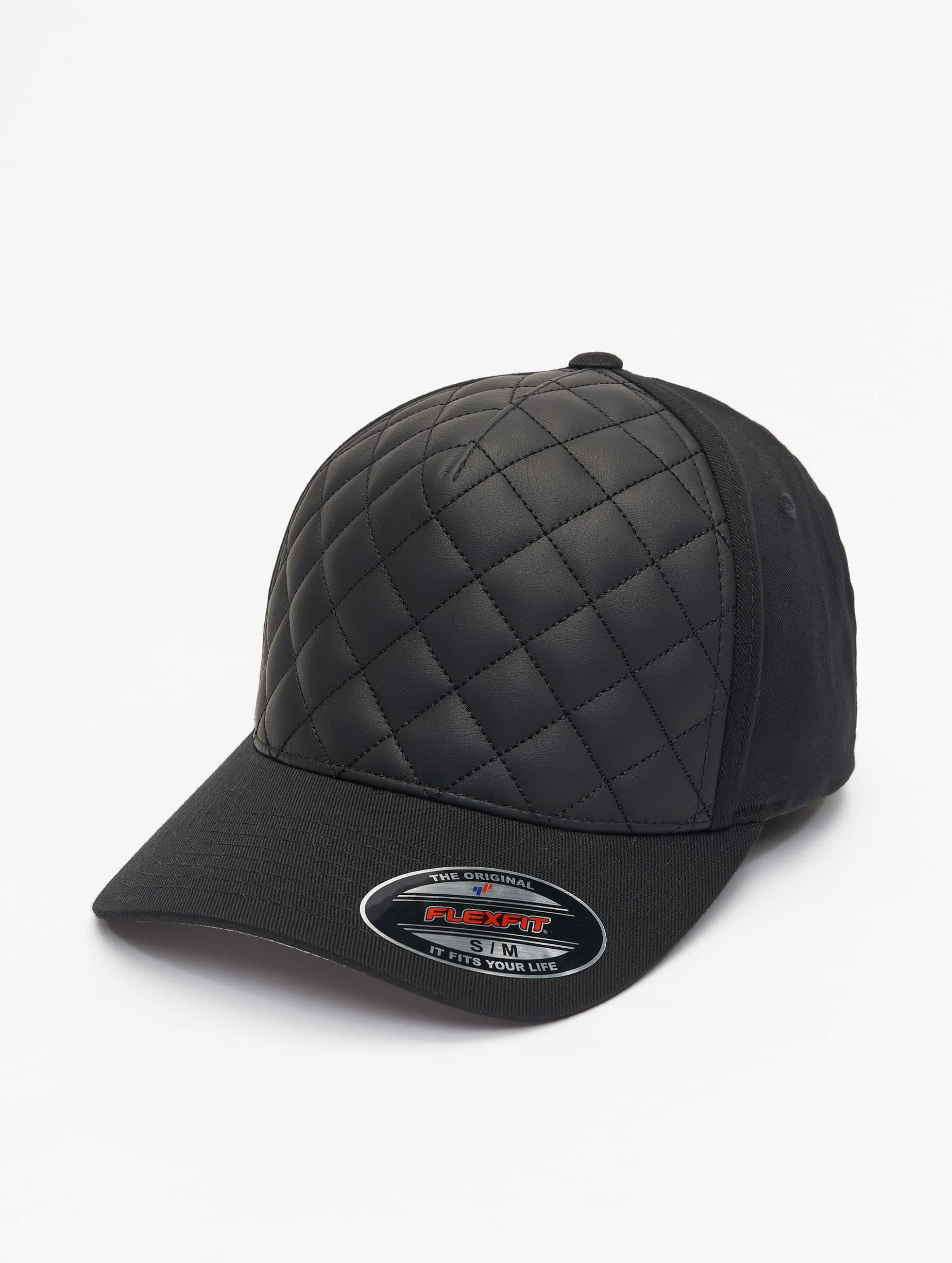 Flexfit Casquette Flex Fitted Diamond Quilted noir
