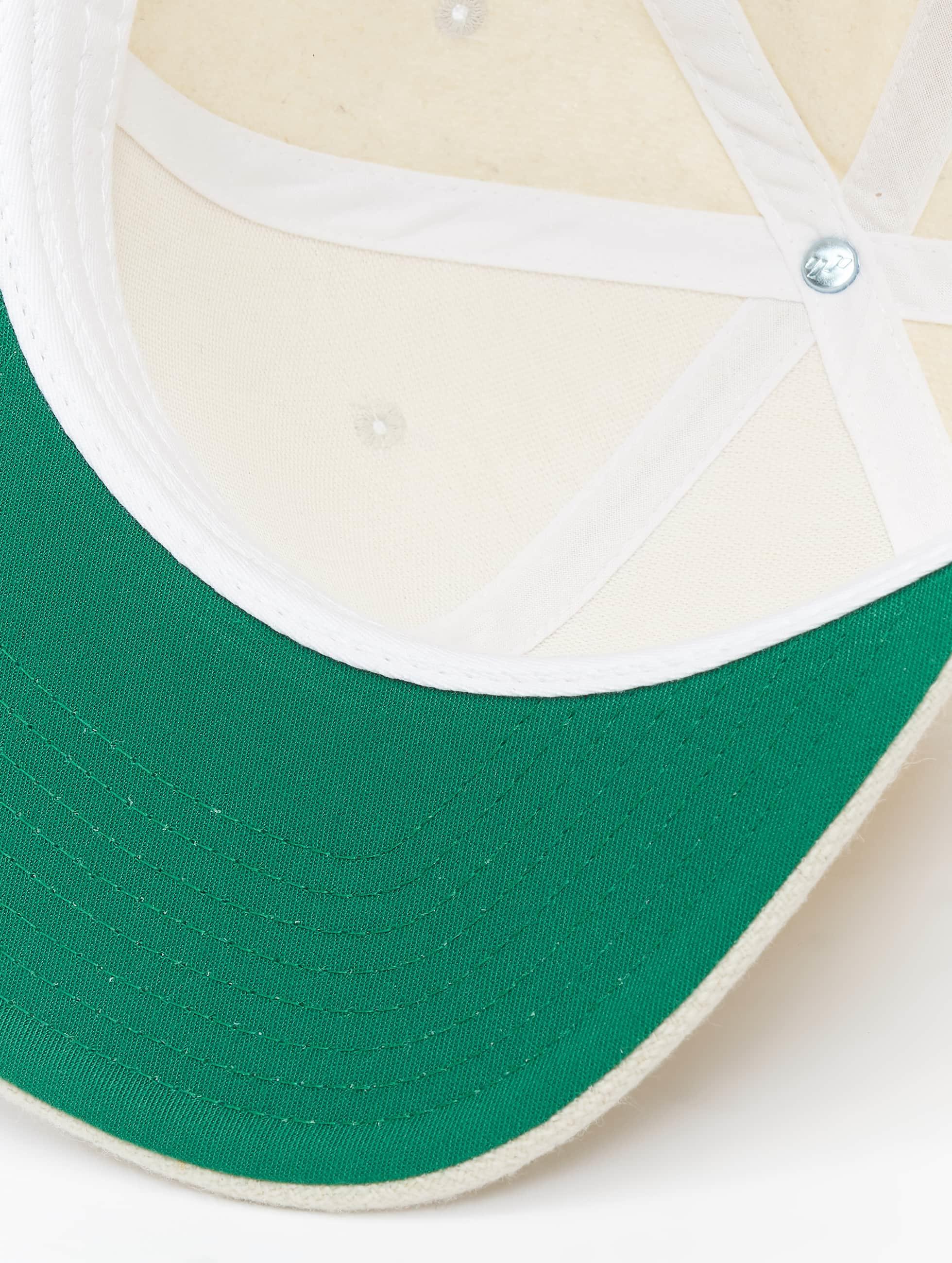 Flexfit Casquette Snapback & Strapback Melton Wool blanc