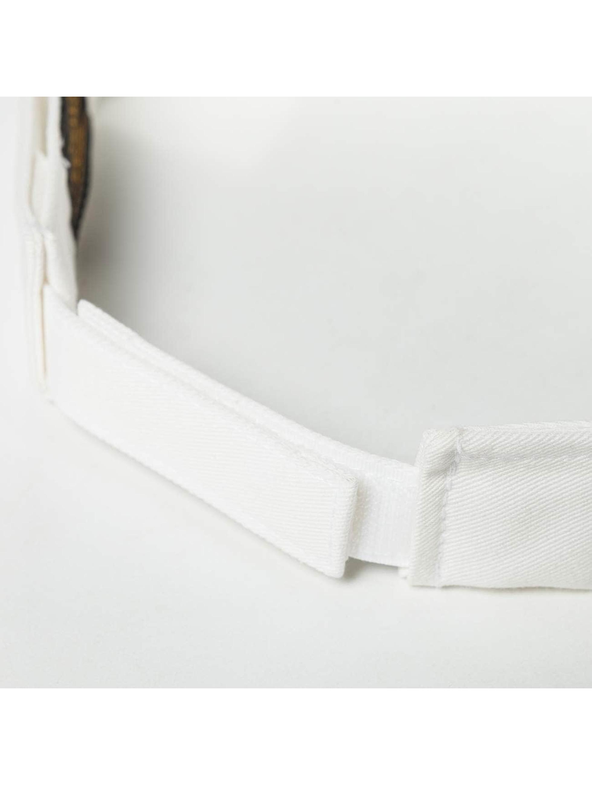 Flexfit Casquette Snapback & Strapback Curved Visor blanc