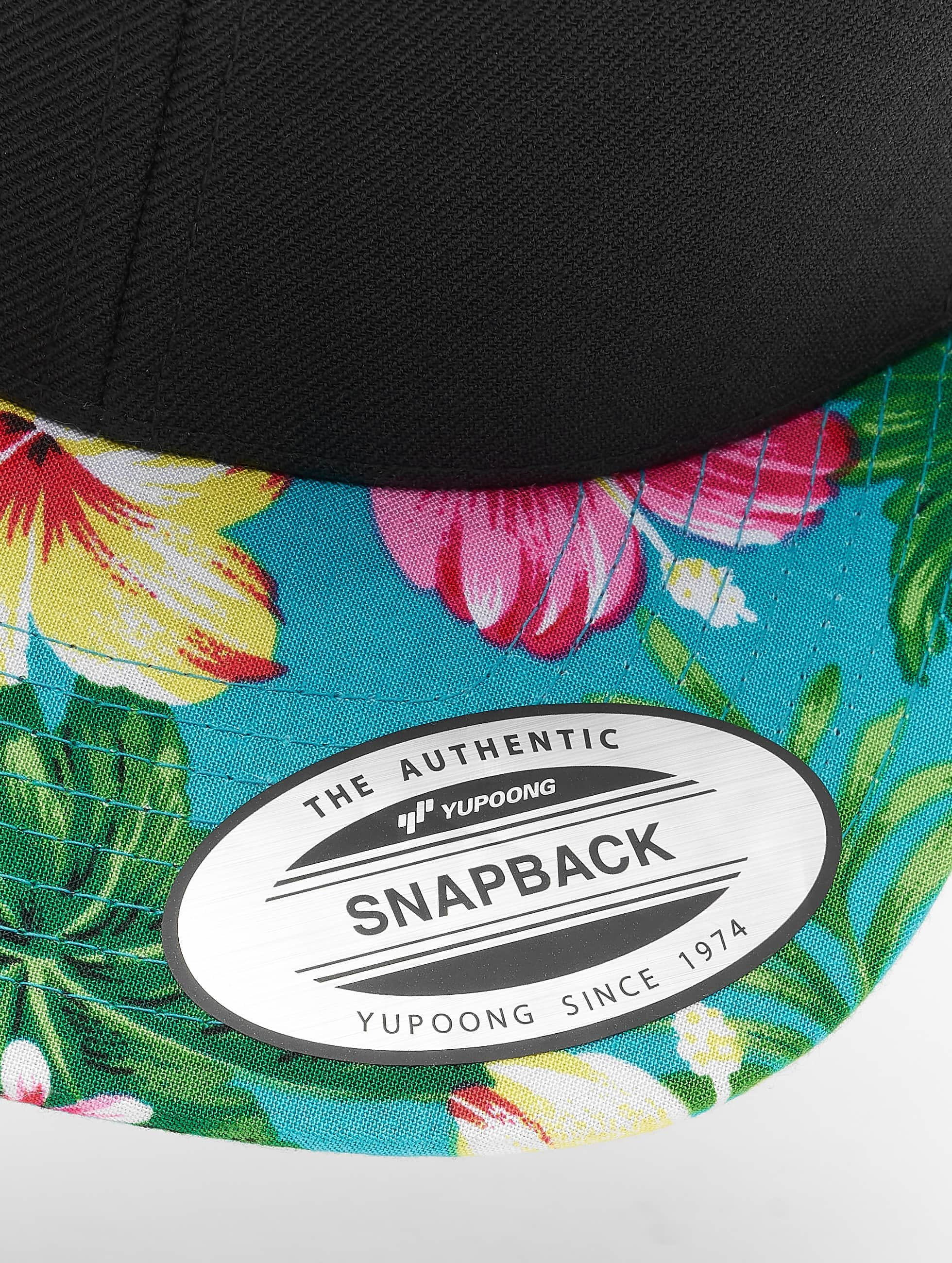 Flexfit Casquette Snapback & Strapback Hawaiian noir