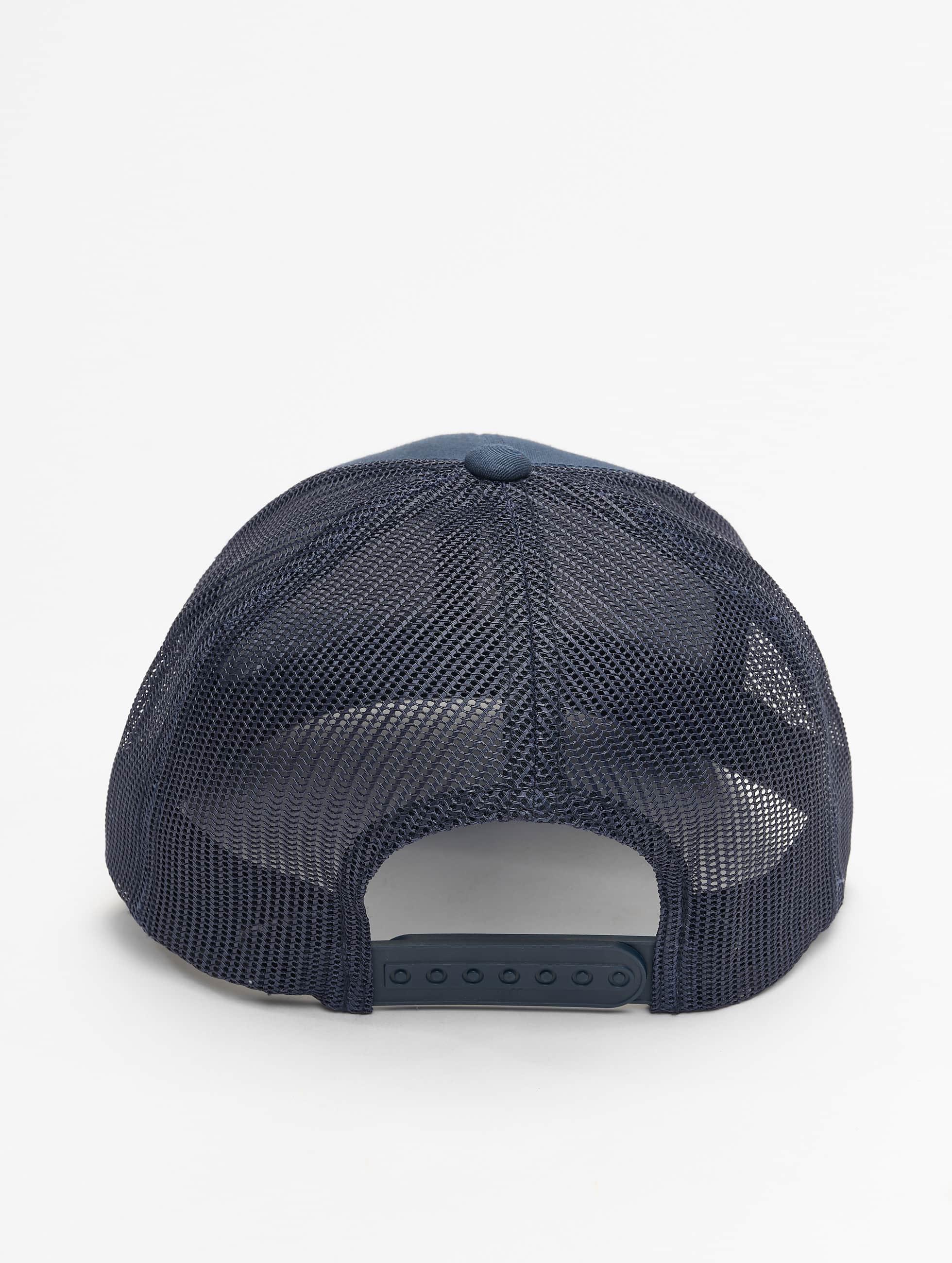 Flexfit Casquette Trucker mesh Retro bleu