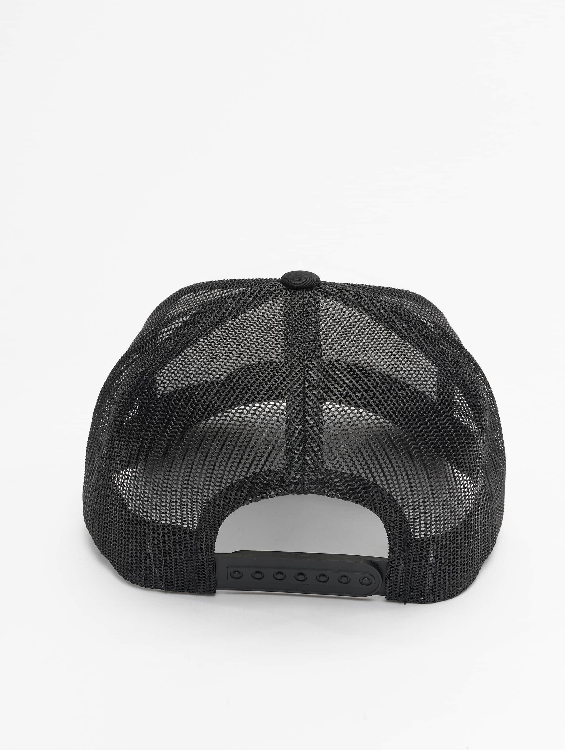 Flexfit Casquette Trucker mesh Retro Colored Front noir