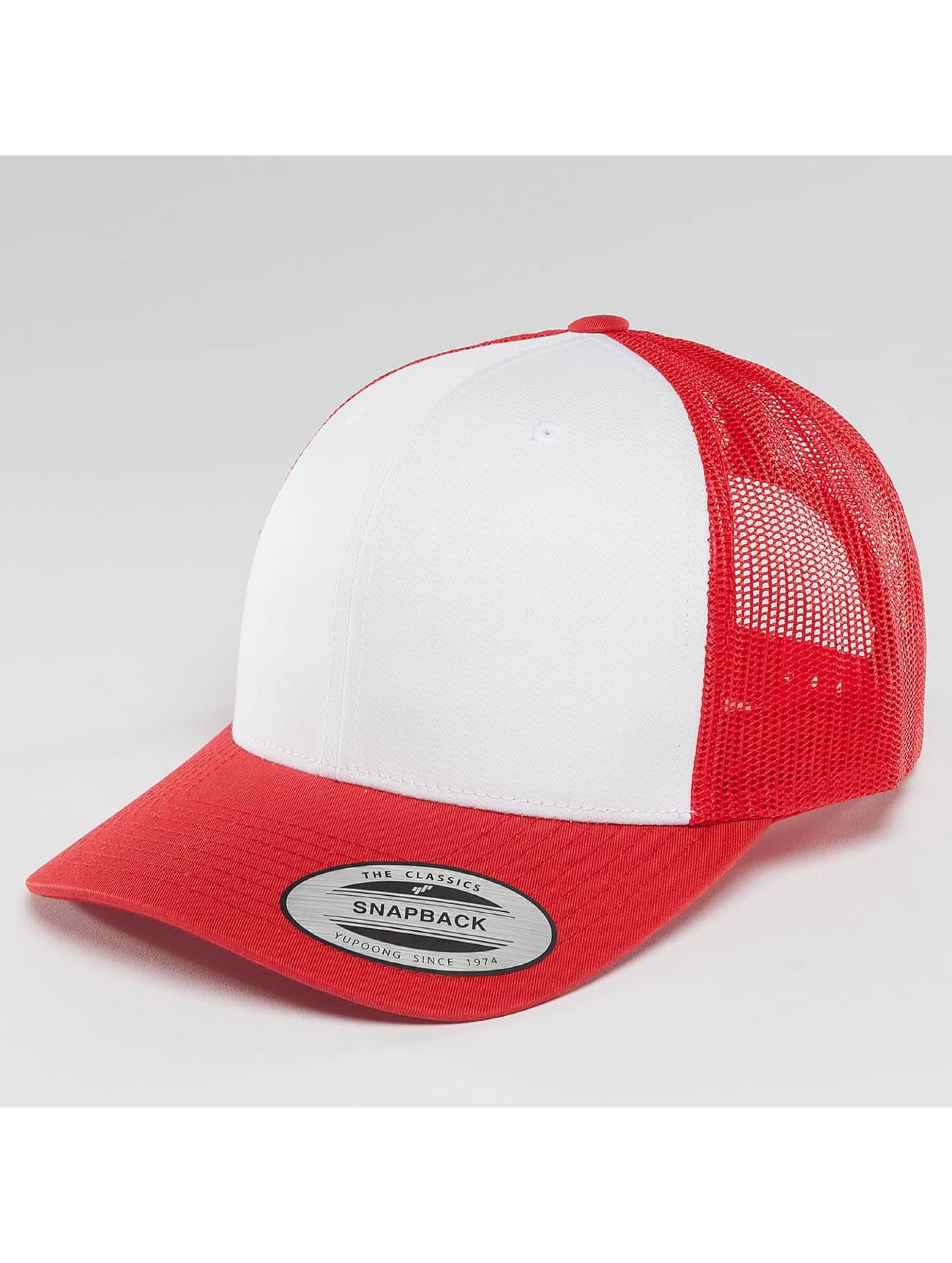 Flexfit Casquette Trucker mesh Retro Colored Front rouge