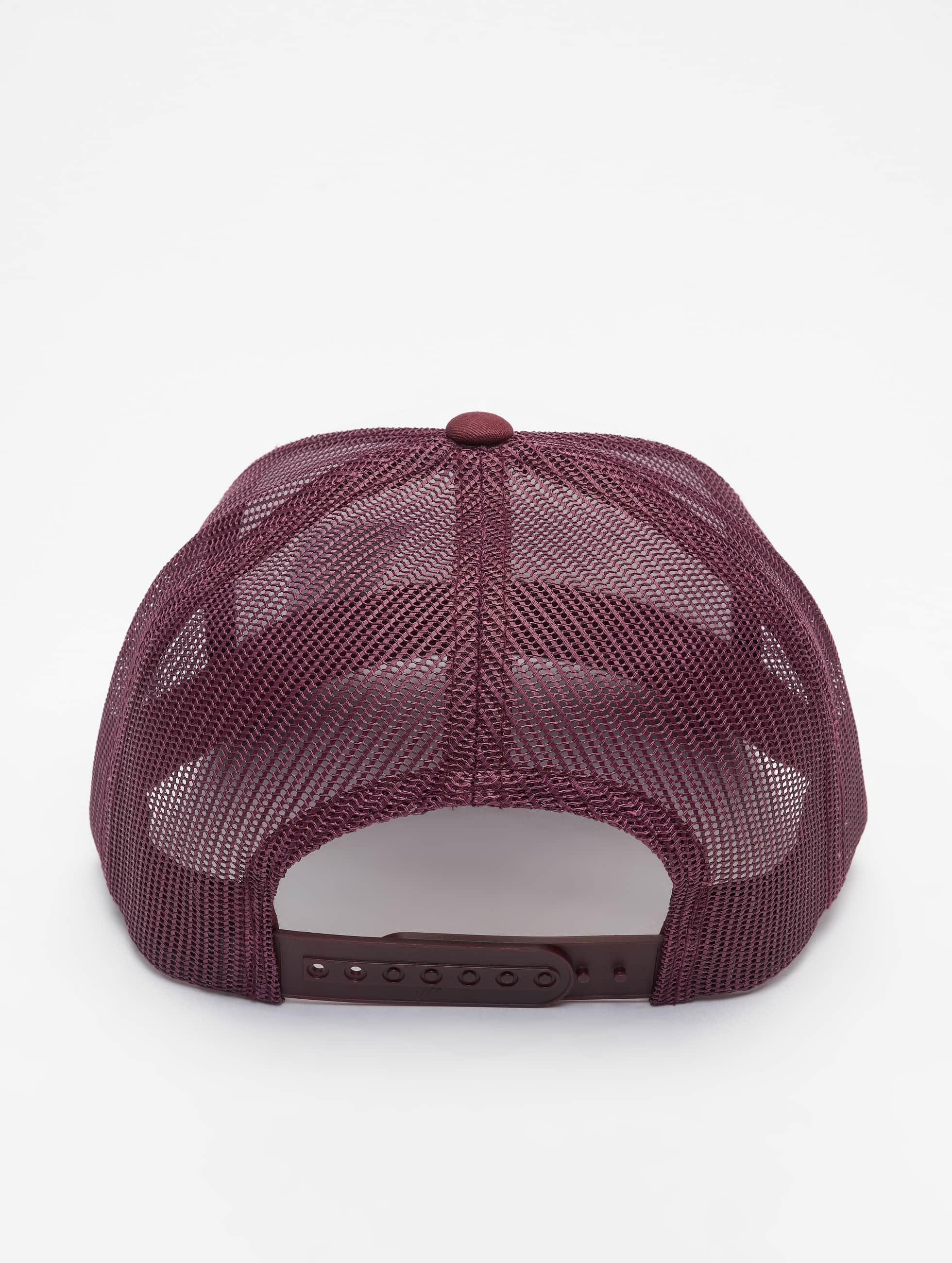 Flexfit Casquette Trucker mesh Retro Colored Front rouge