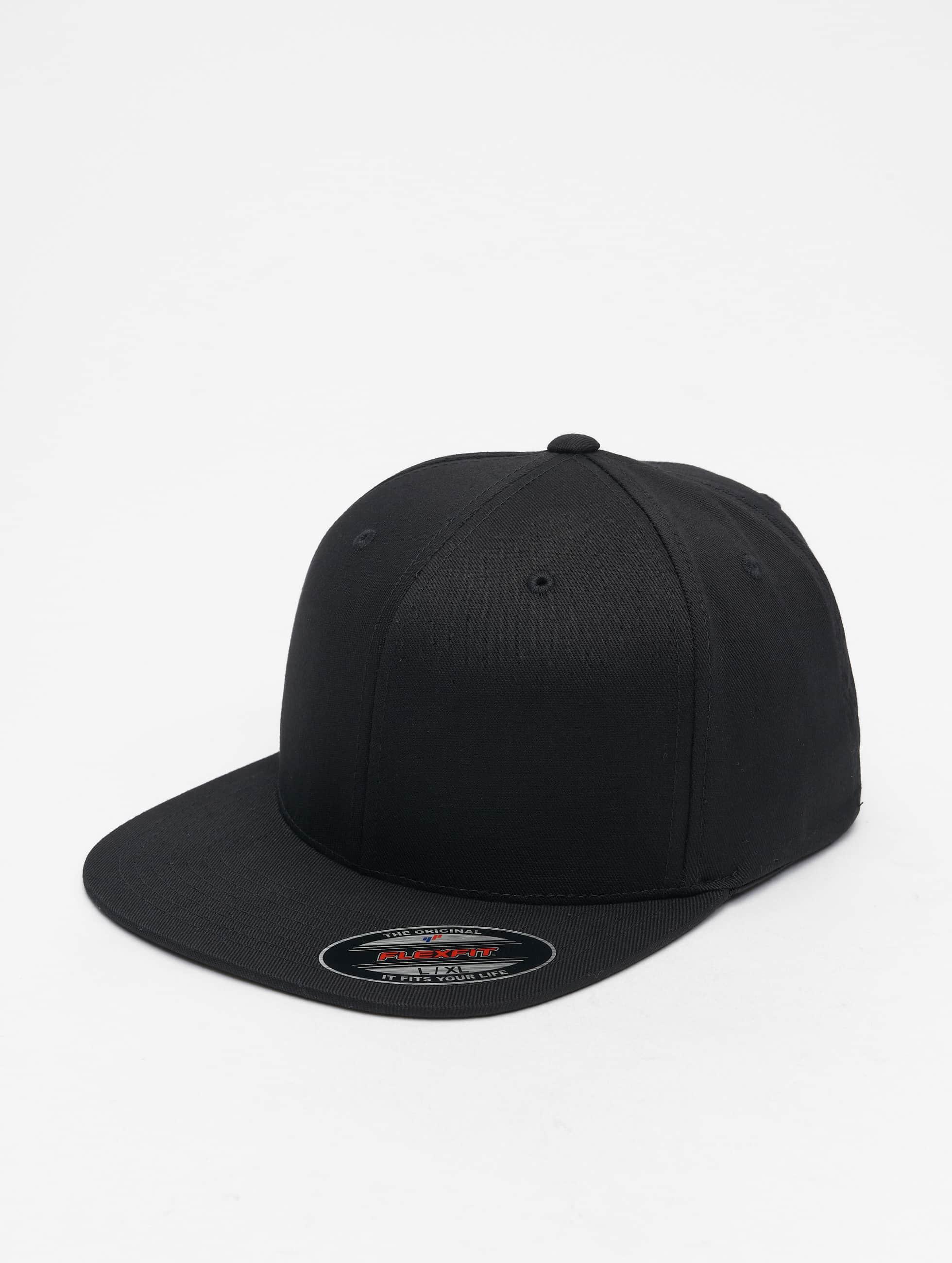 Flexfit Flexfitted Cap Flat Visor èierna