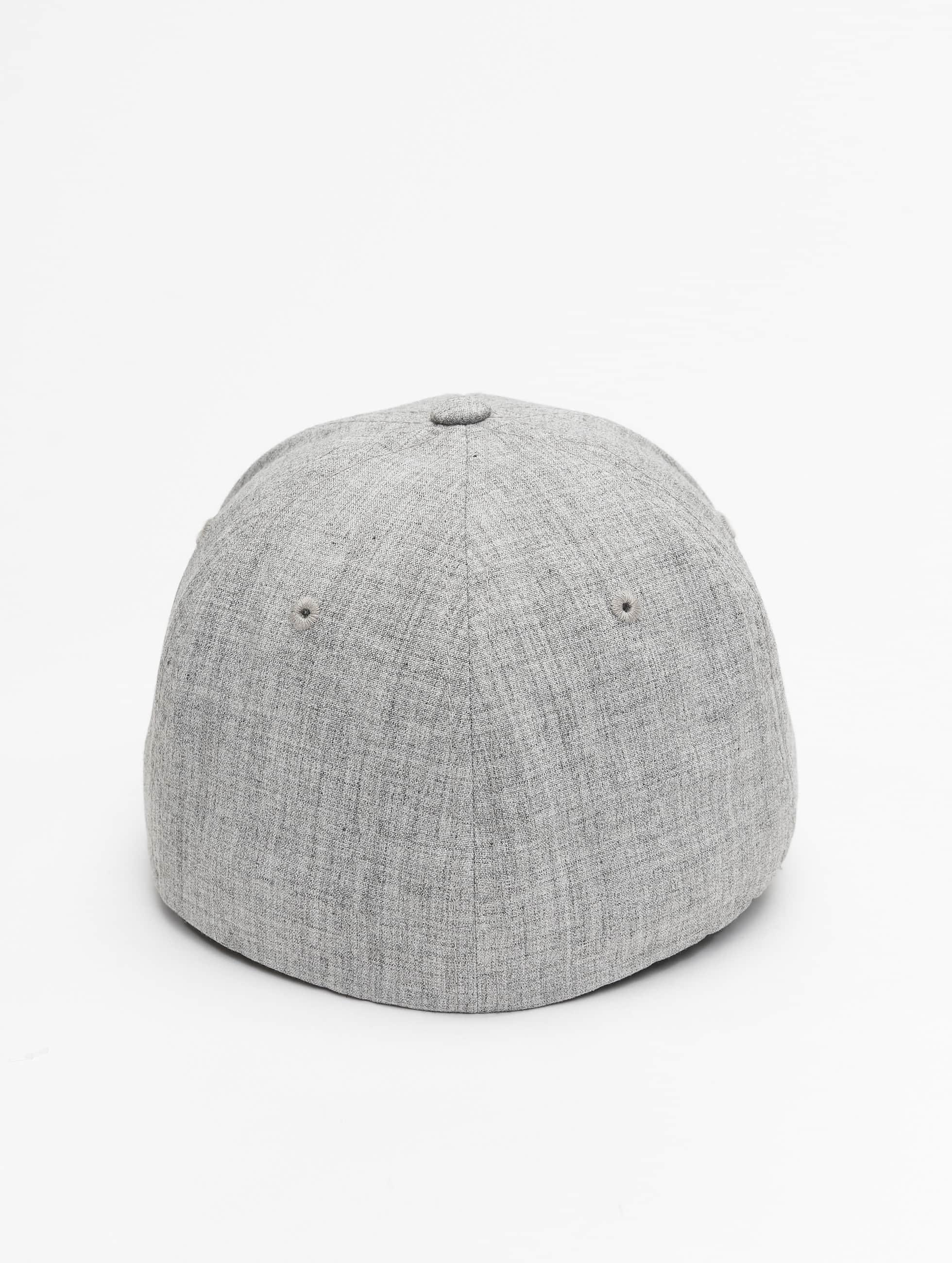 Flexfit Flexfitted Cap Plain Span šedá