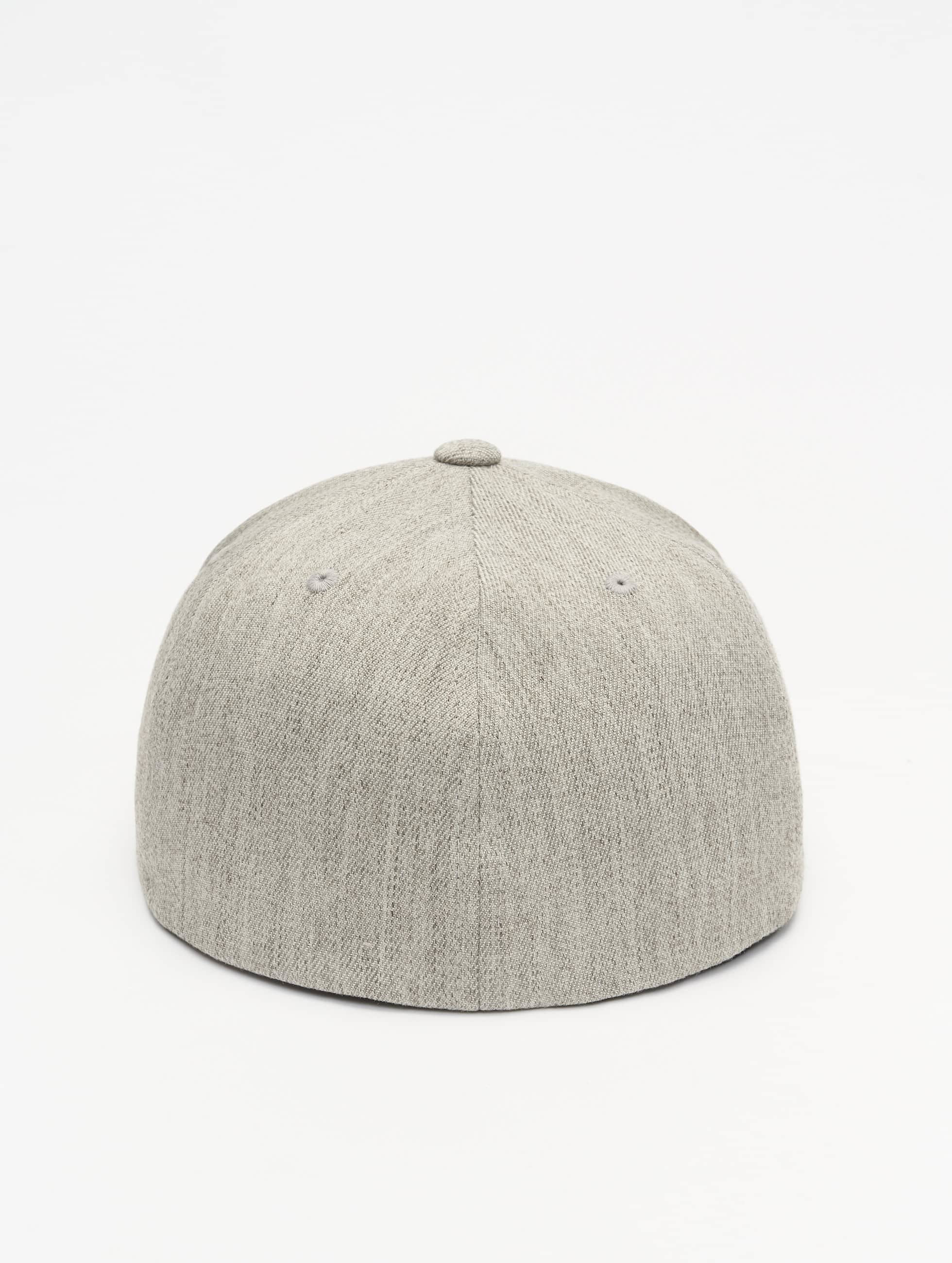 Flexfit Flexfitted Cap Flat Visor šedá