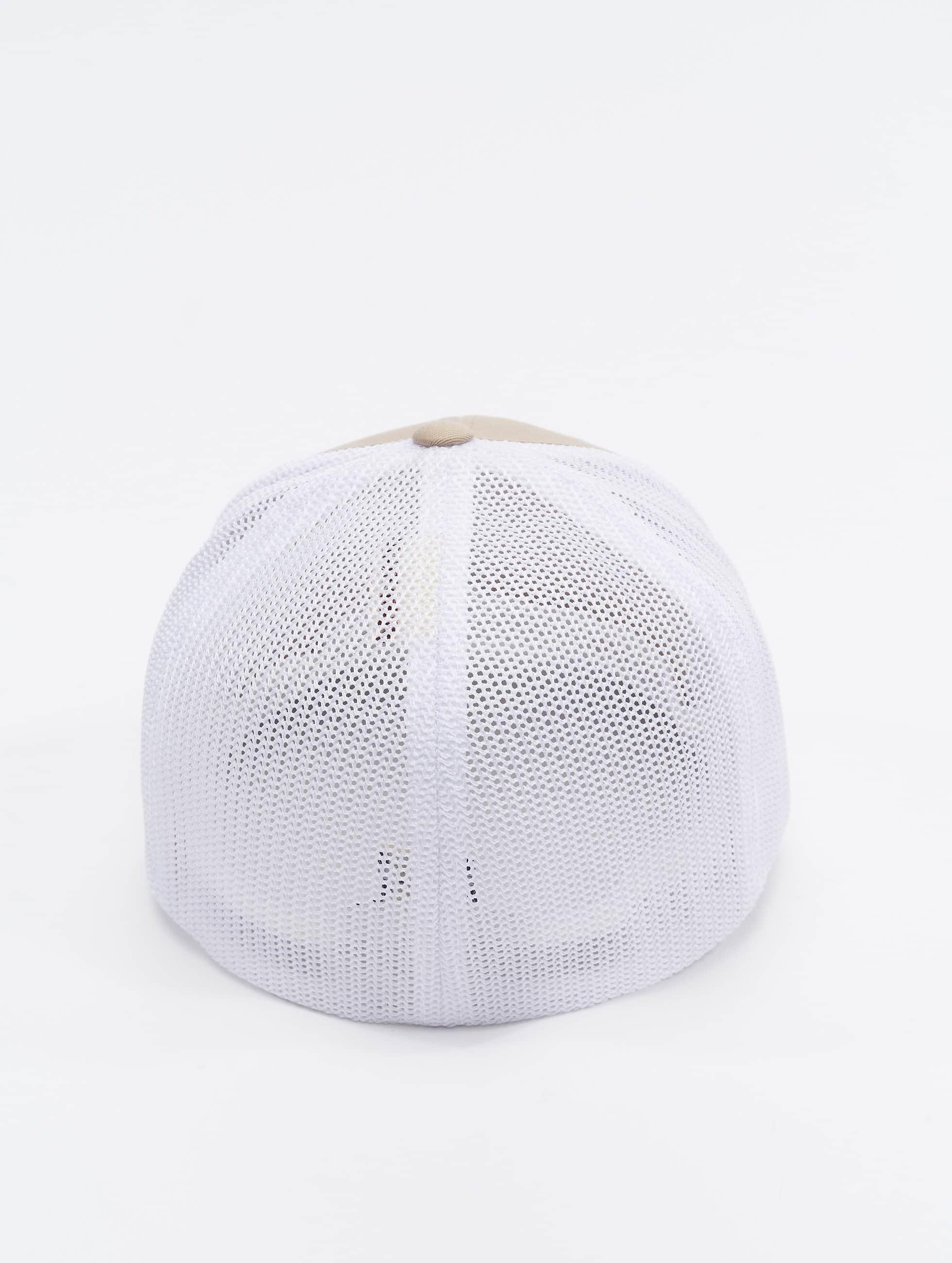Flexfit Flexfitted Cap Mesh Cotton Twill bezowy