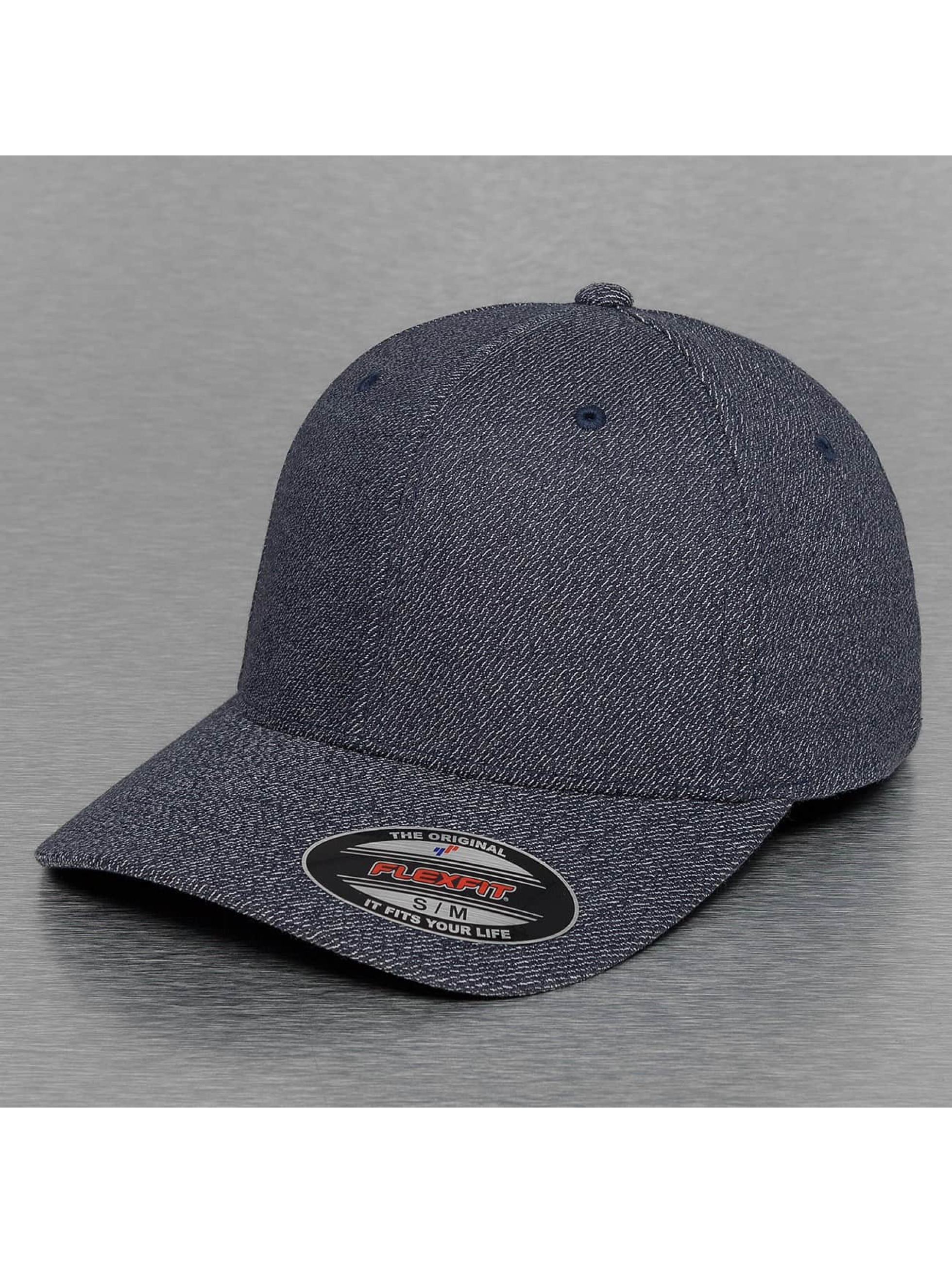 Flexfit Flexfitted Cap Melange blau