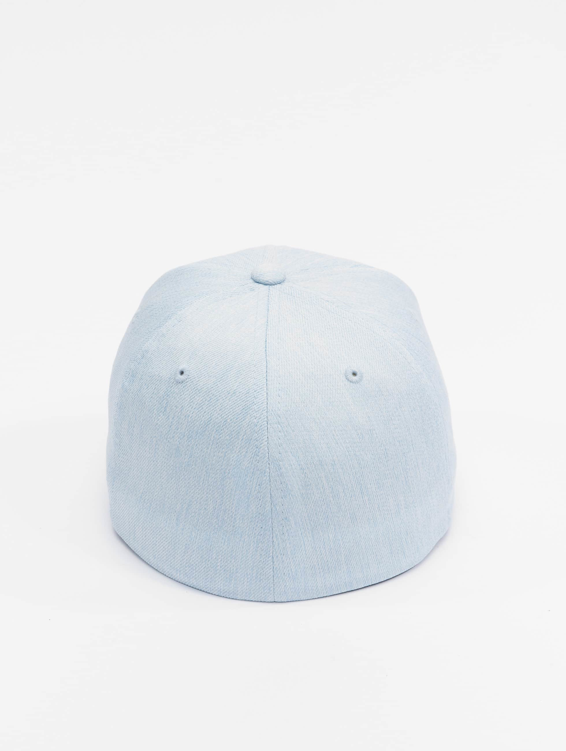 Flexfit Flexfitted Cap Pastel Melange blau