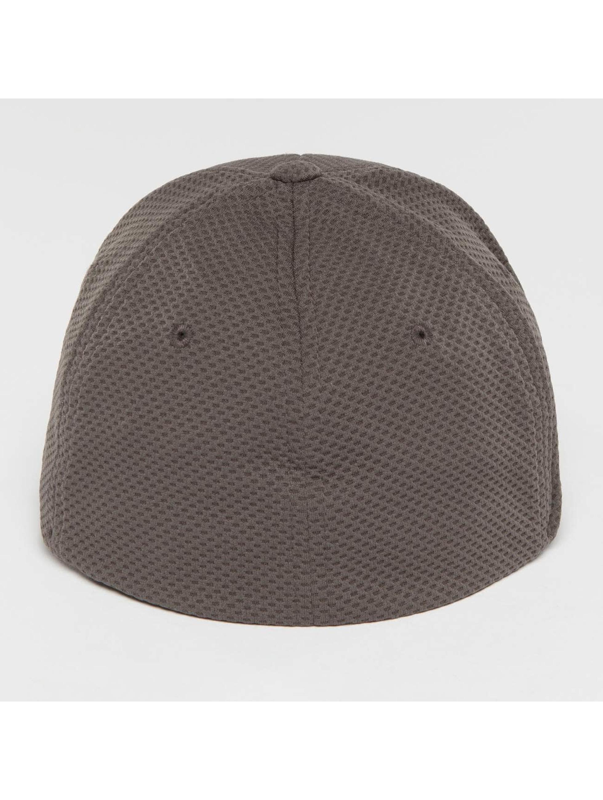 Flexfit Flexfitted Cap 3D Hexagon grå