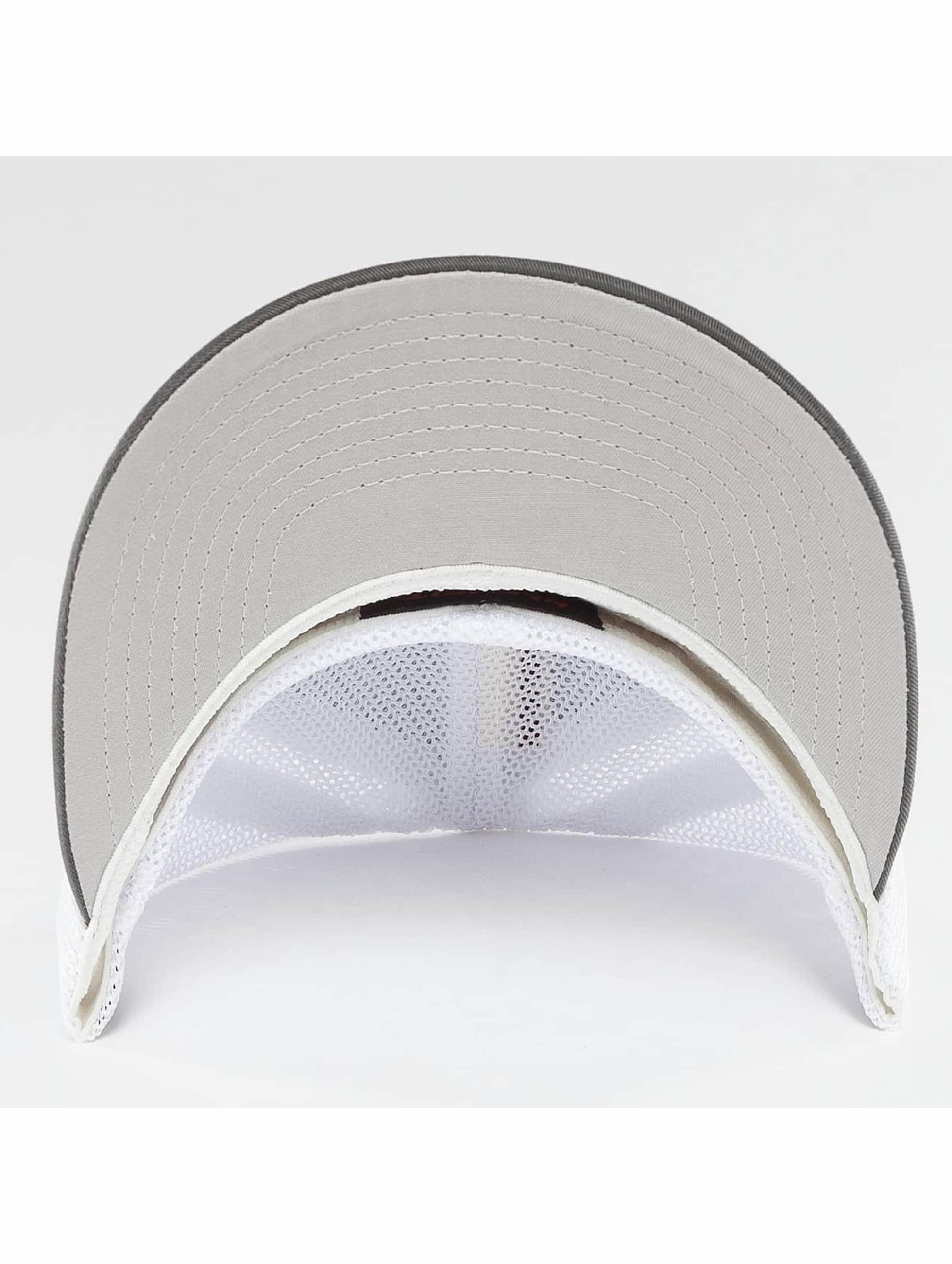 Flexfit Flexfitted Cap Mesh Cotton Twill Two Tone grau
