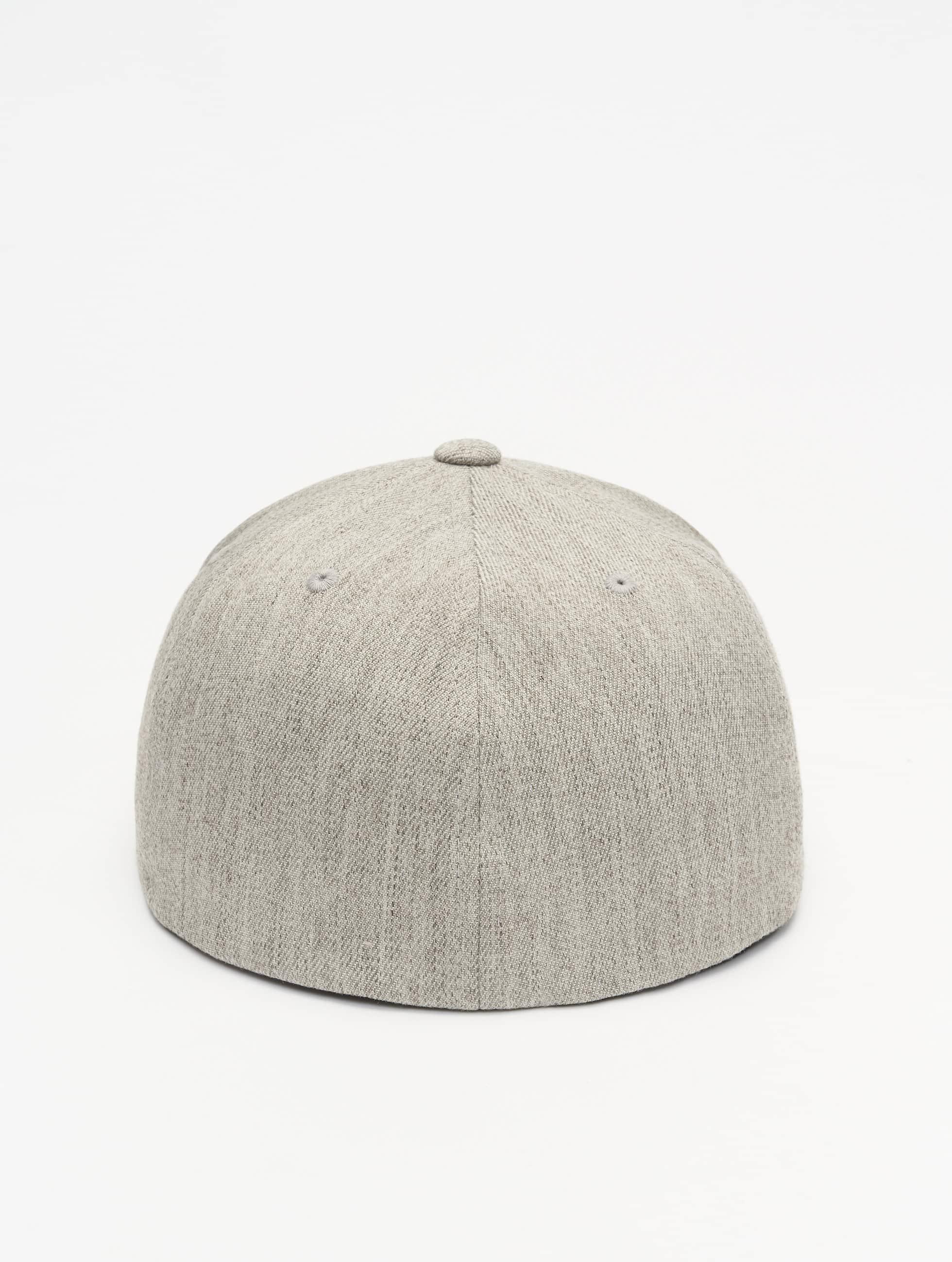 Flexfit Flexfitted Cap Flat Visor grey