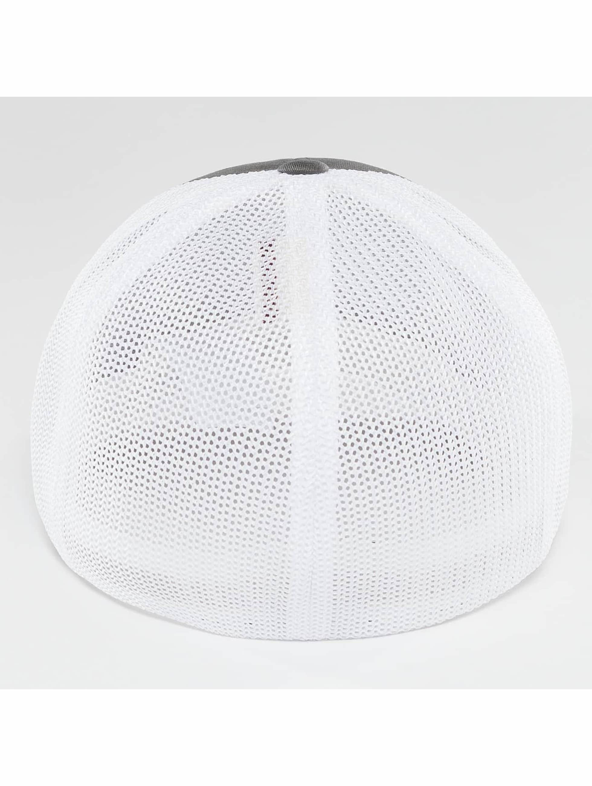 Flexfit Flexfitted Cap Mesh Cotton Twill Two Tone grijs