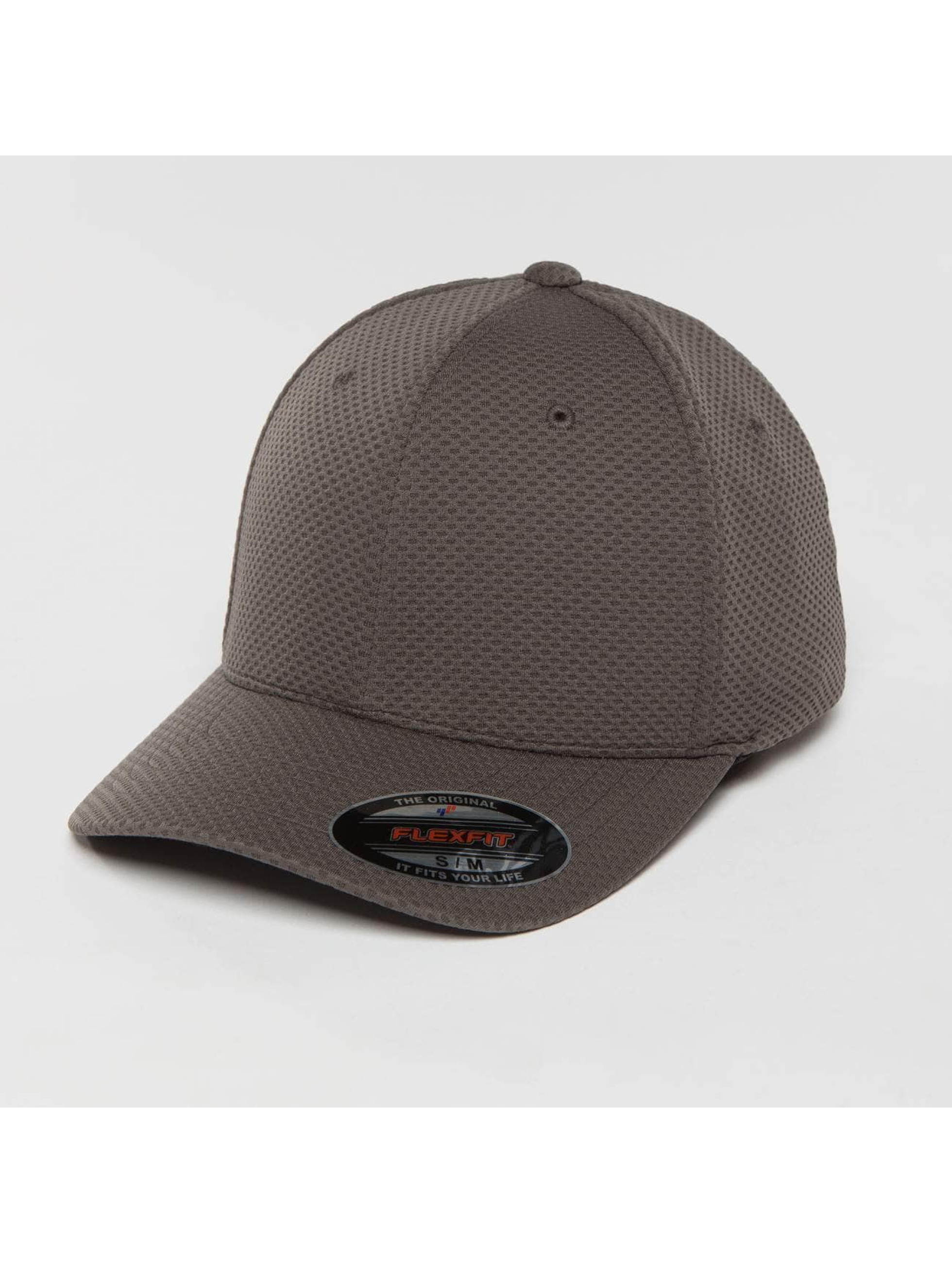 Flexfit Flexfitted Cap 3D Hexagon gris