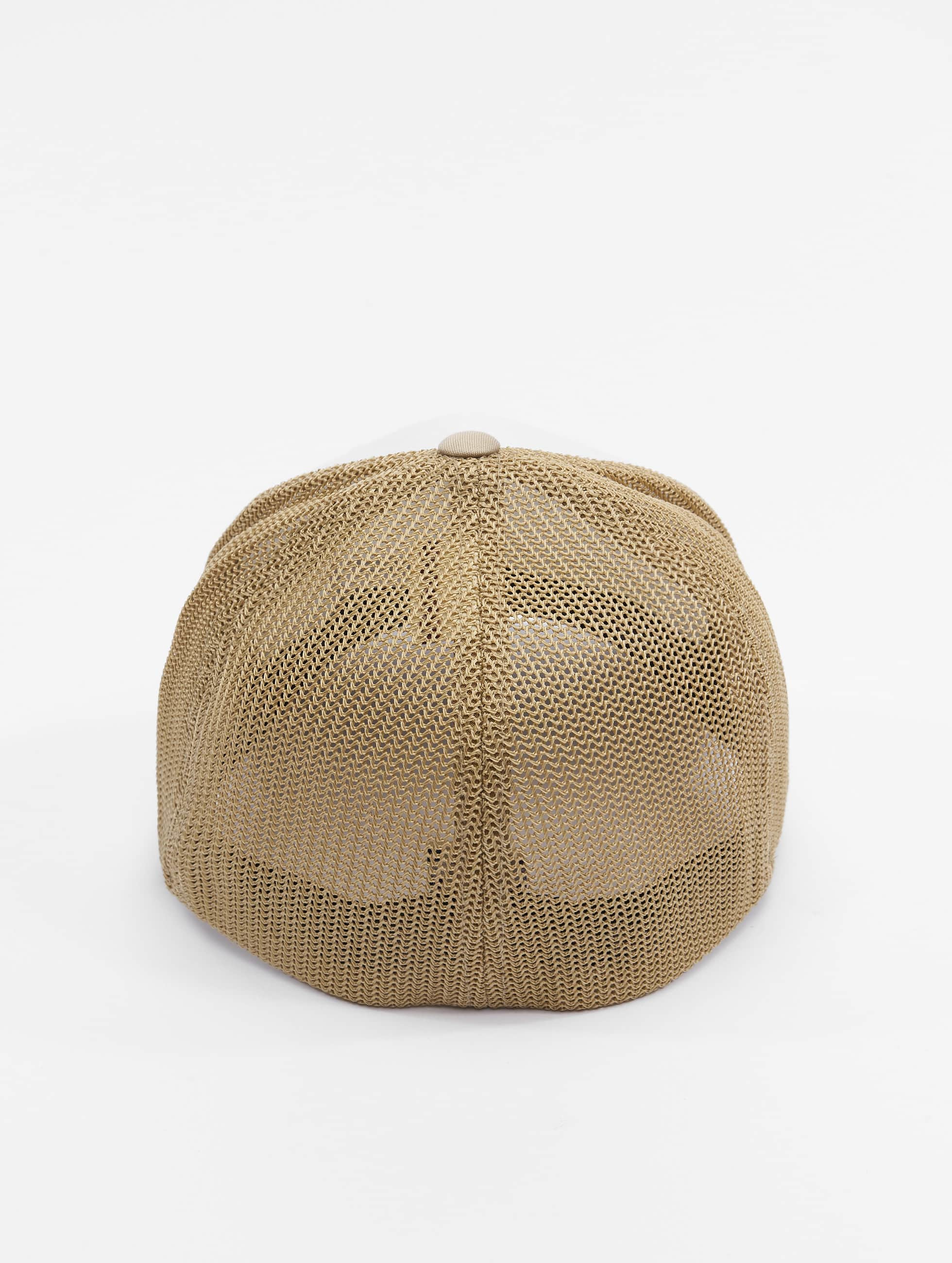 Flexfit Flexfitted Cap Mesh Colored Front khaki