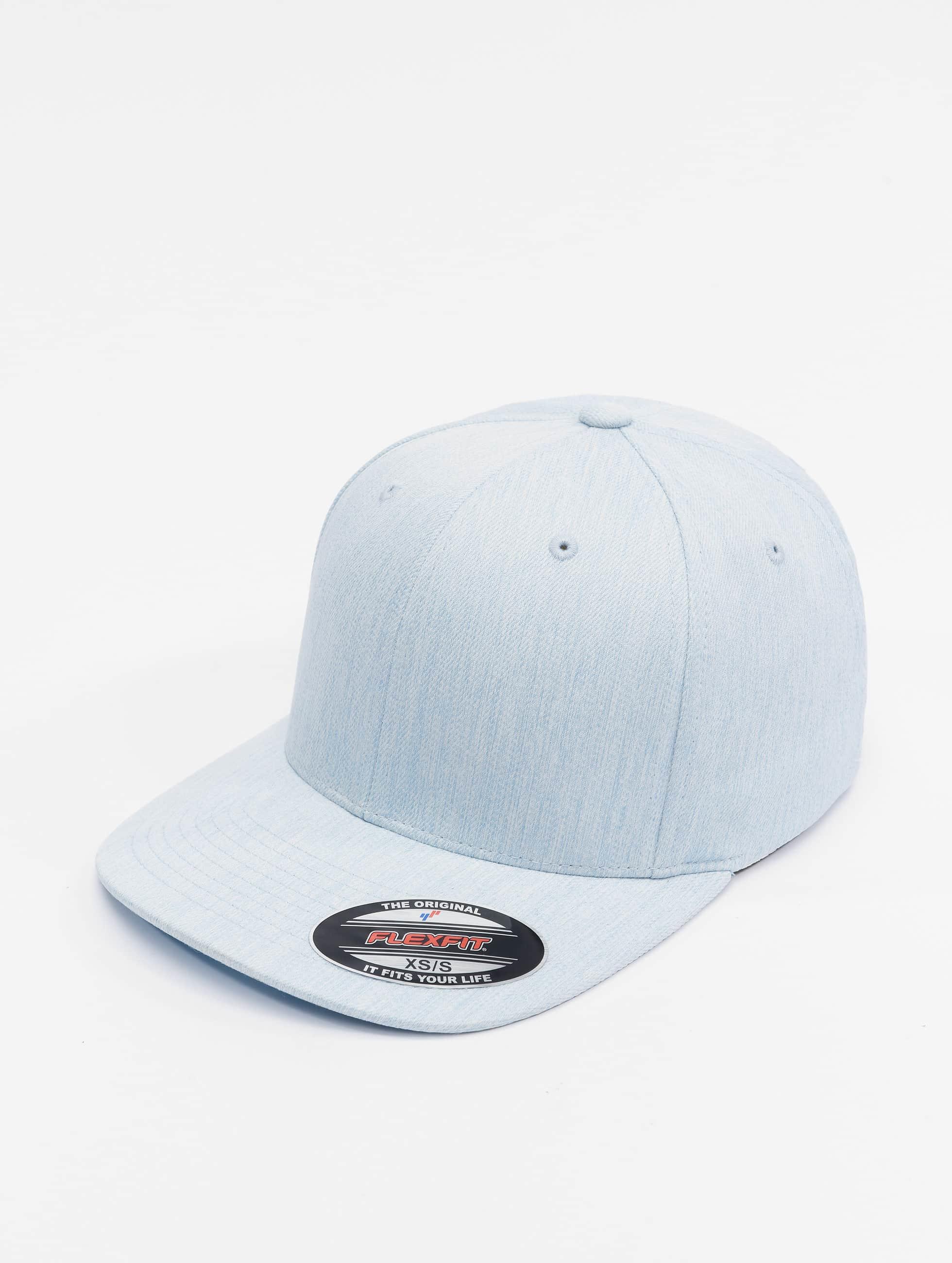 Flexfit Flexfitted Cap Pastel Melange modrá