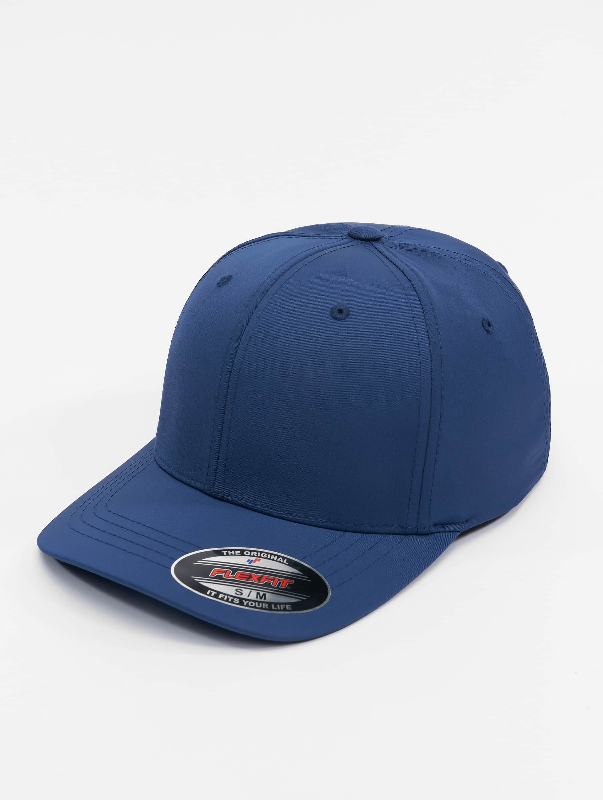 Flexfit Flexfitted Cap Tech niebieski