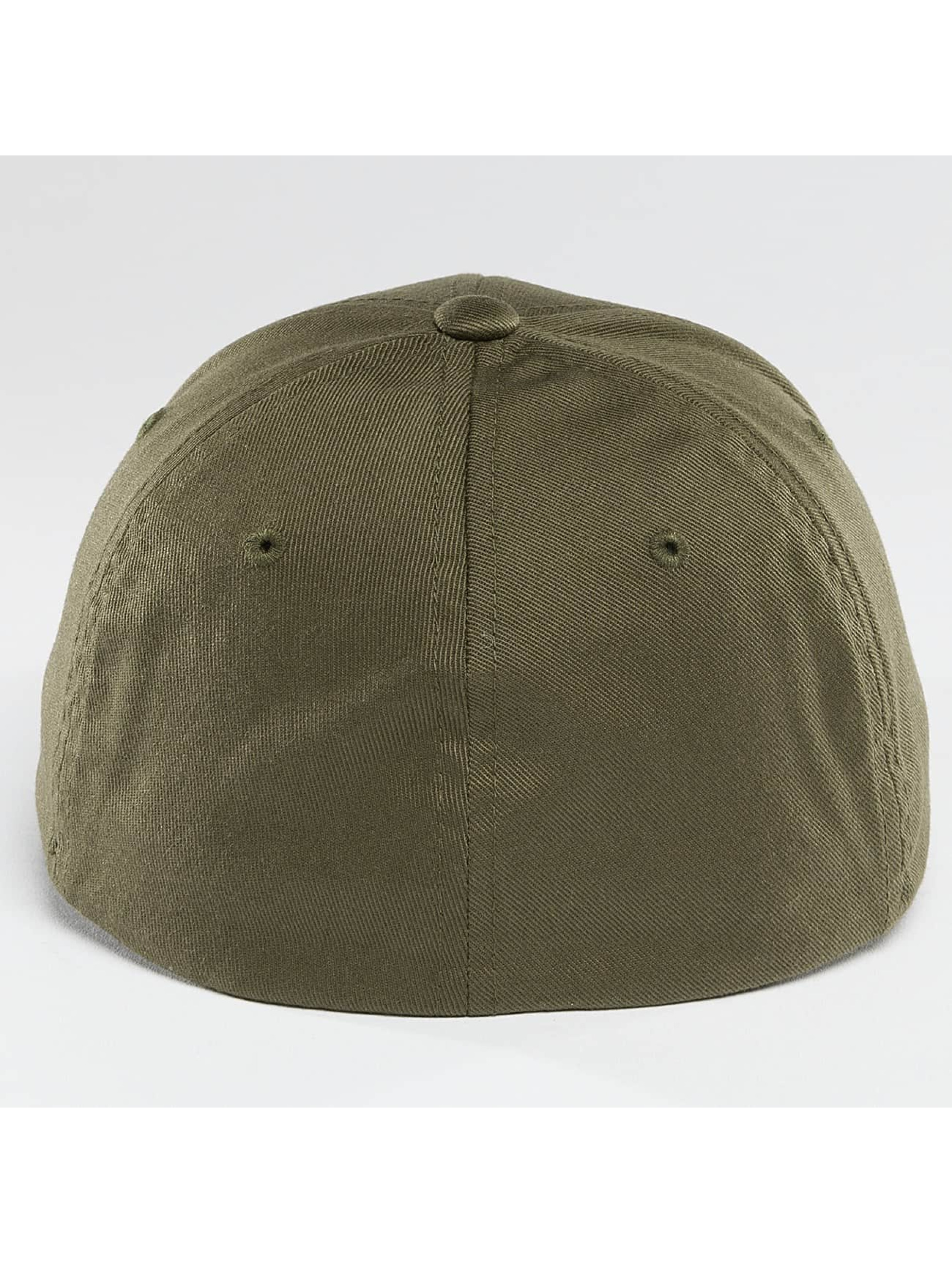 Flexfit Flexfitted Cap Wooly Combed olive