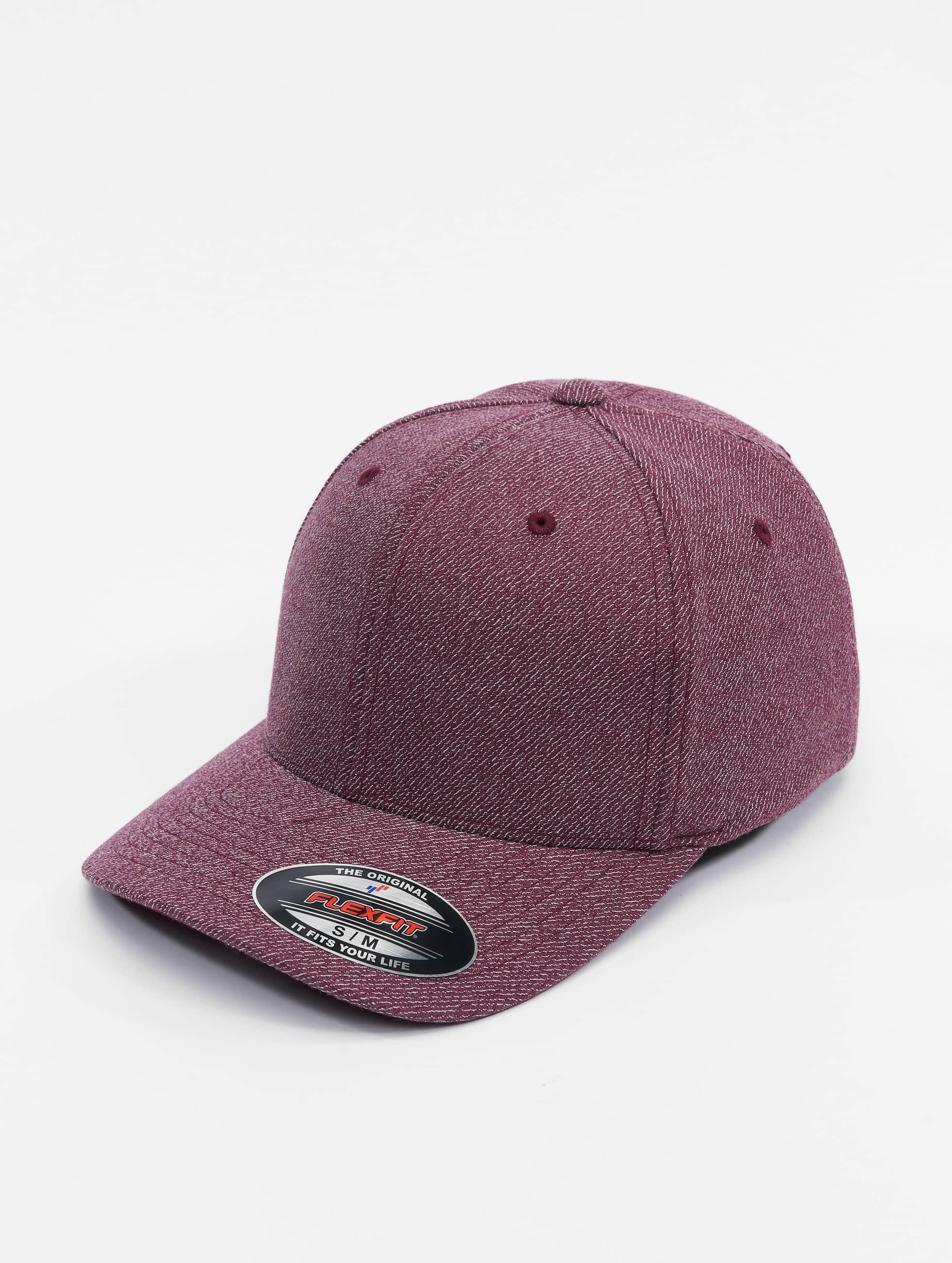 Flexfit Flexfitted Cap Melange red