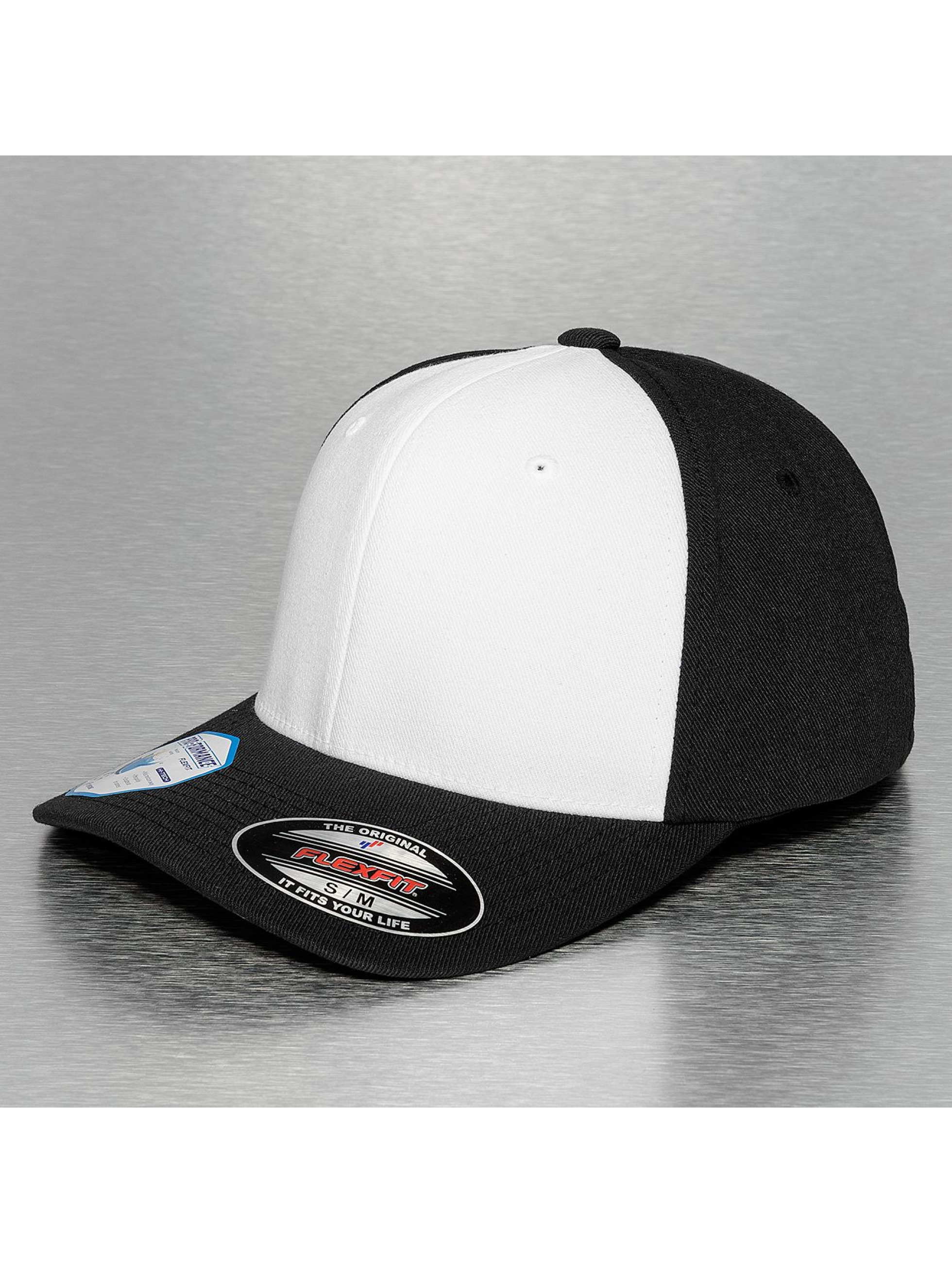 Flexfit Flexfitted Cap Performance schwarz