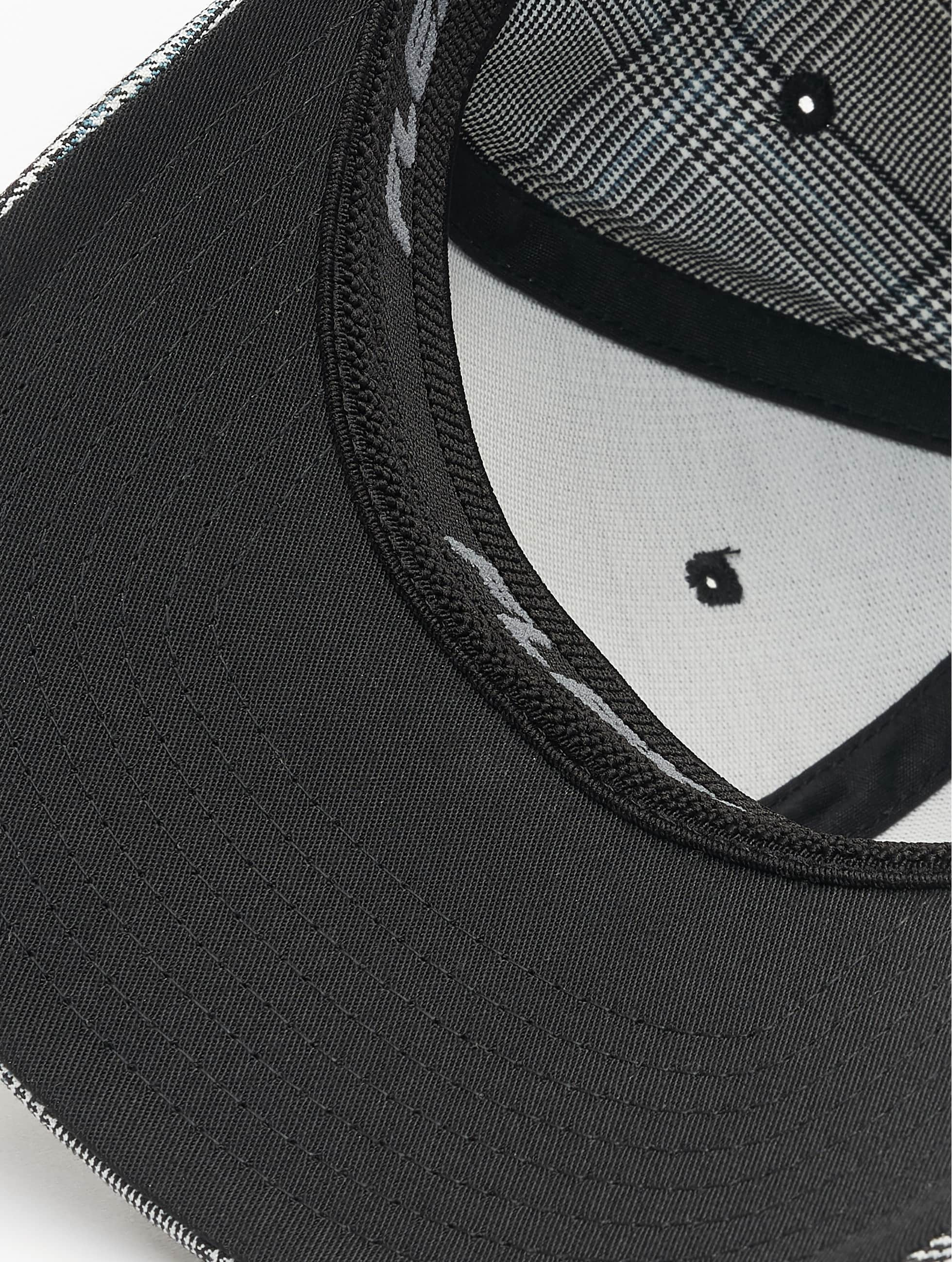 Flexfit Flexfitted Cap Glen Check schwarz
