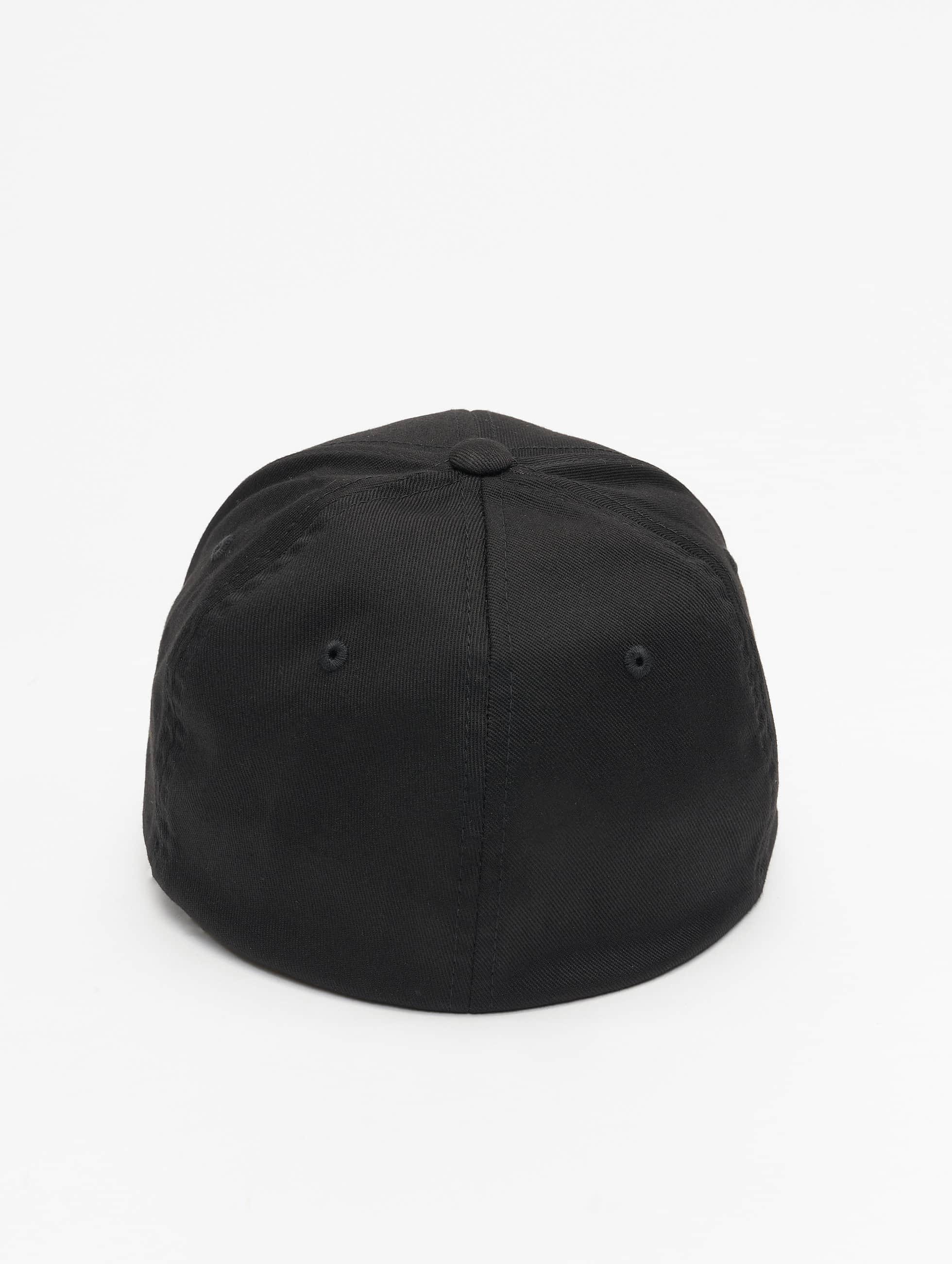 Flexfit Flexfitted Cap Carbon schwarz