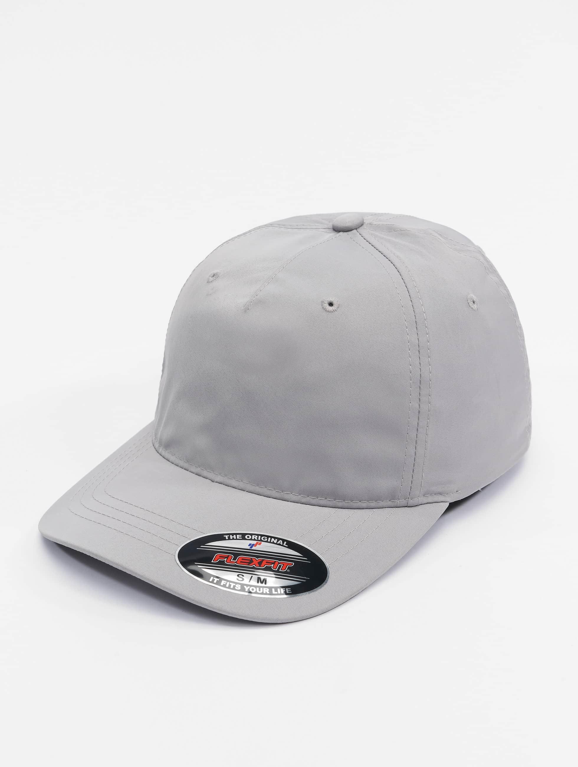 Flexfit Flexfitted Cap Unstructured Tech silberfarben